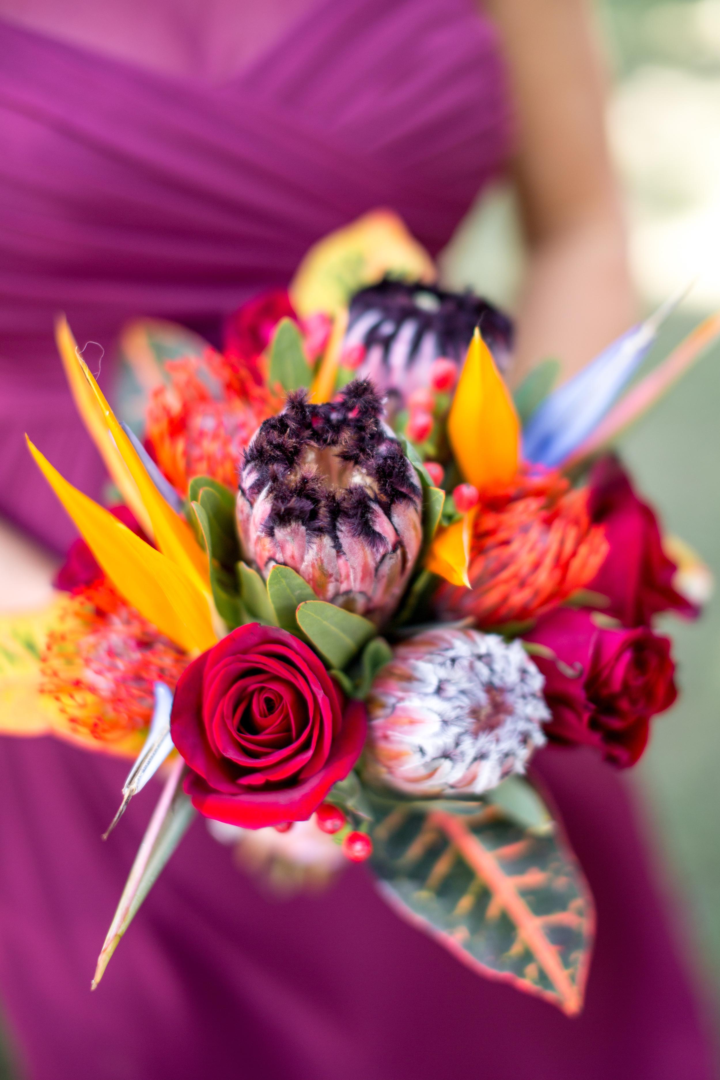 bird of paradise bouquet