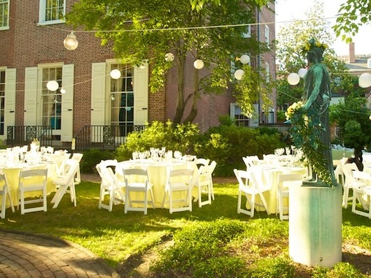 Hill-Physick House   Historic, beautiful downtown location perfect for both indoor and outdoor intimate events.