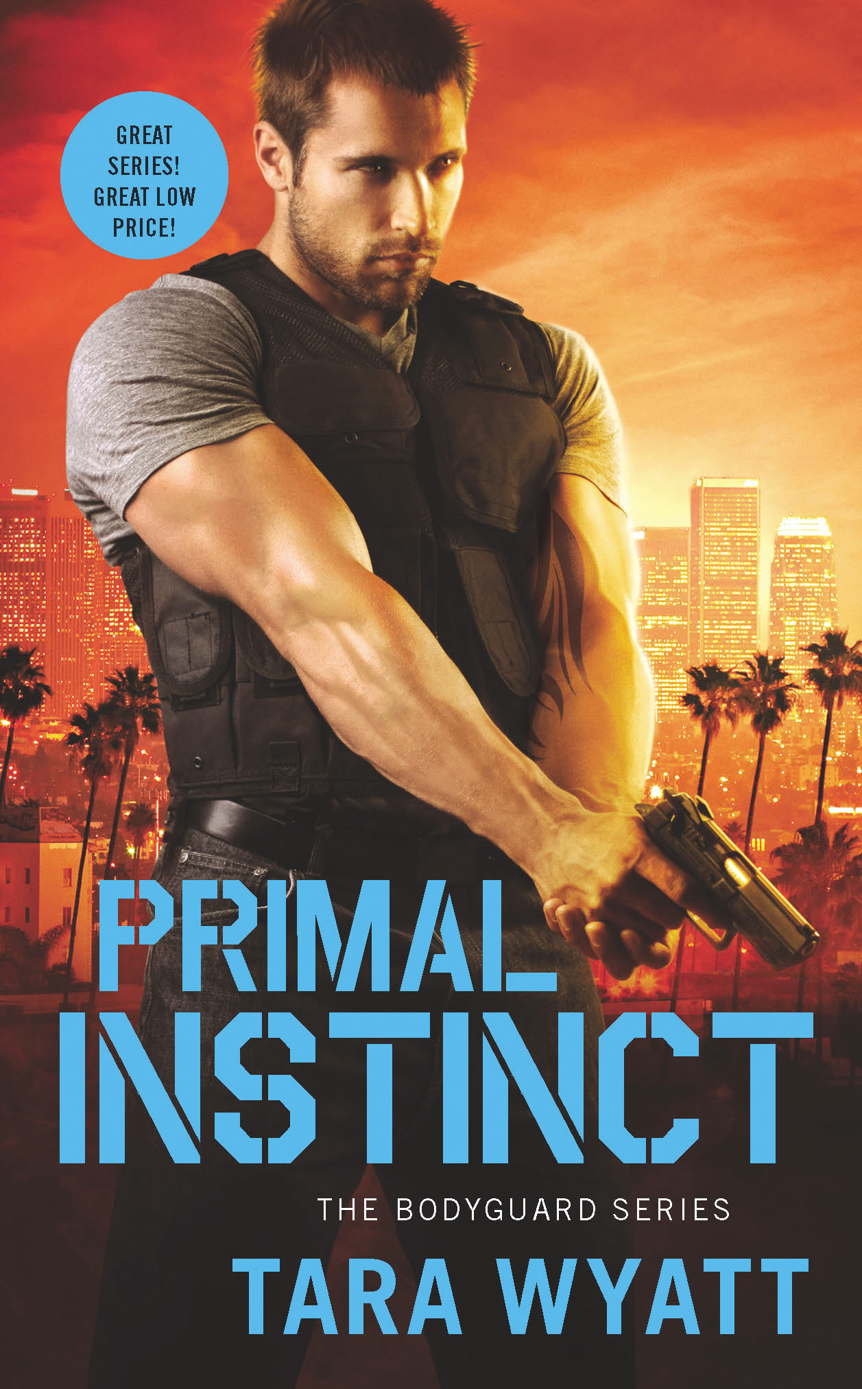 Primal Instinct by Tara Wyatt The Bodyguard Series Book 2 Romantic Suspense