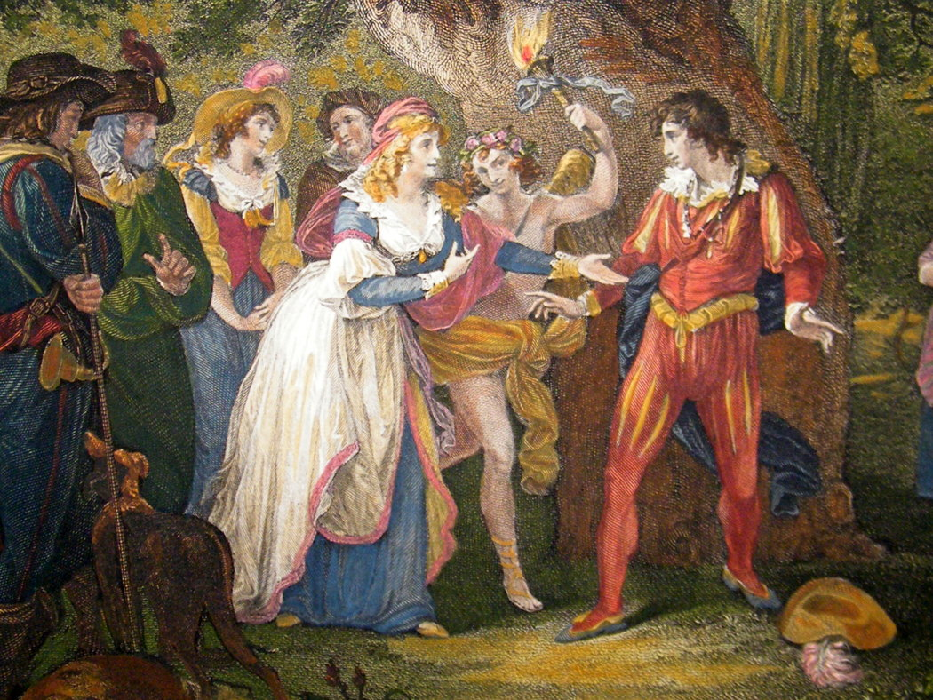 1803 Painting of Shakespeare's As you Like It