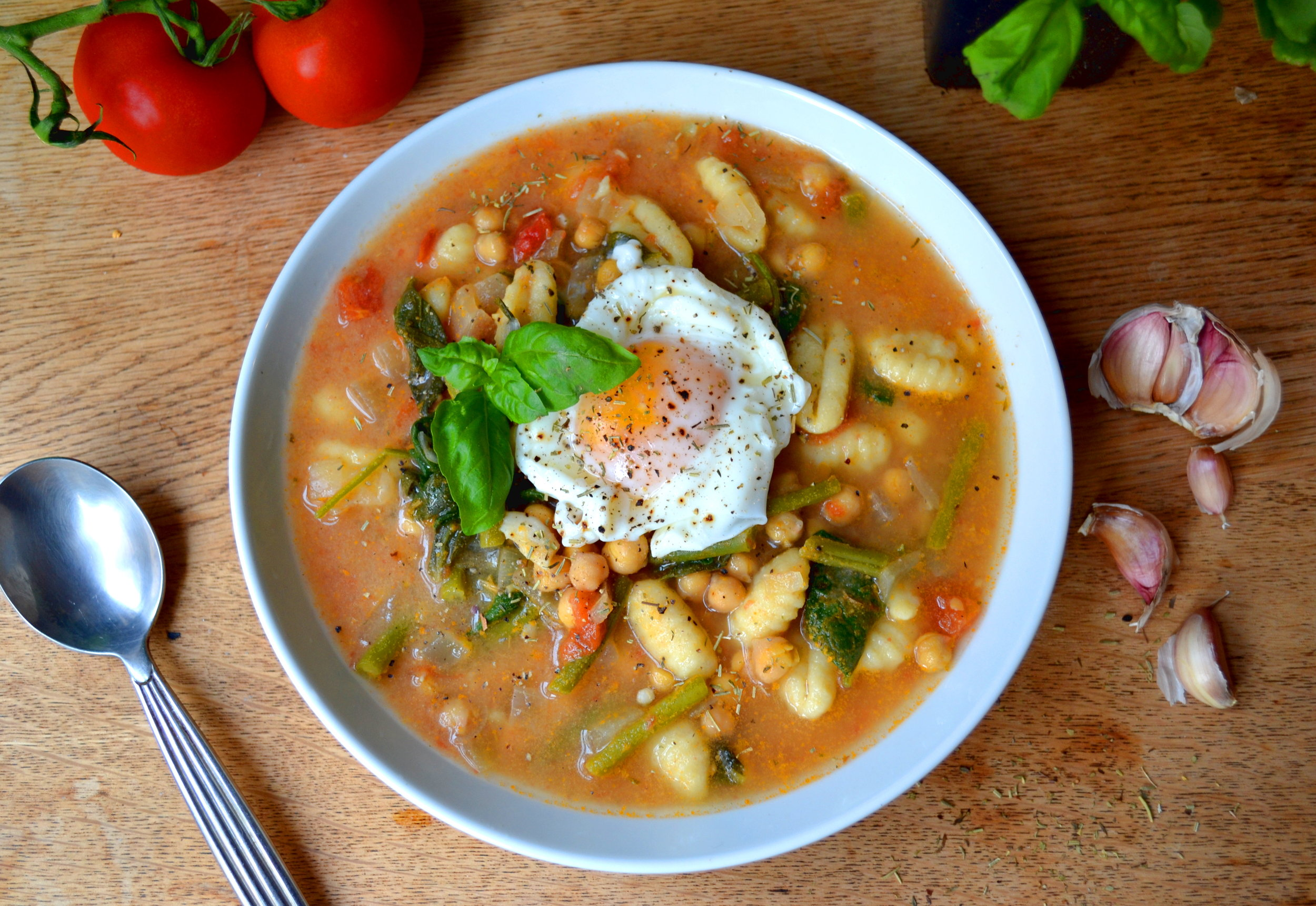 Italian Vegetable Gnocchi Soup | The Flourishing Pantry | Yeast Free Diet