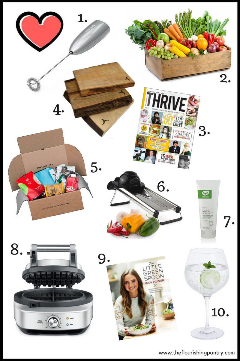 Valentine's gifts for healthy foodie | The Flourishing Pantry | yeast free diet blog