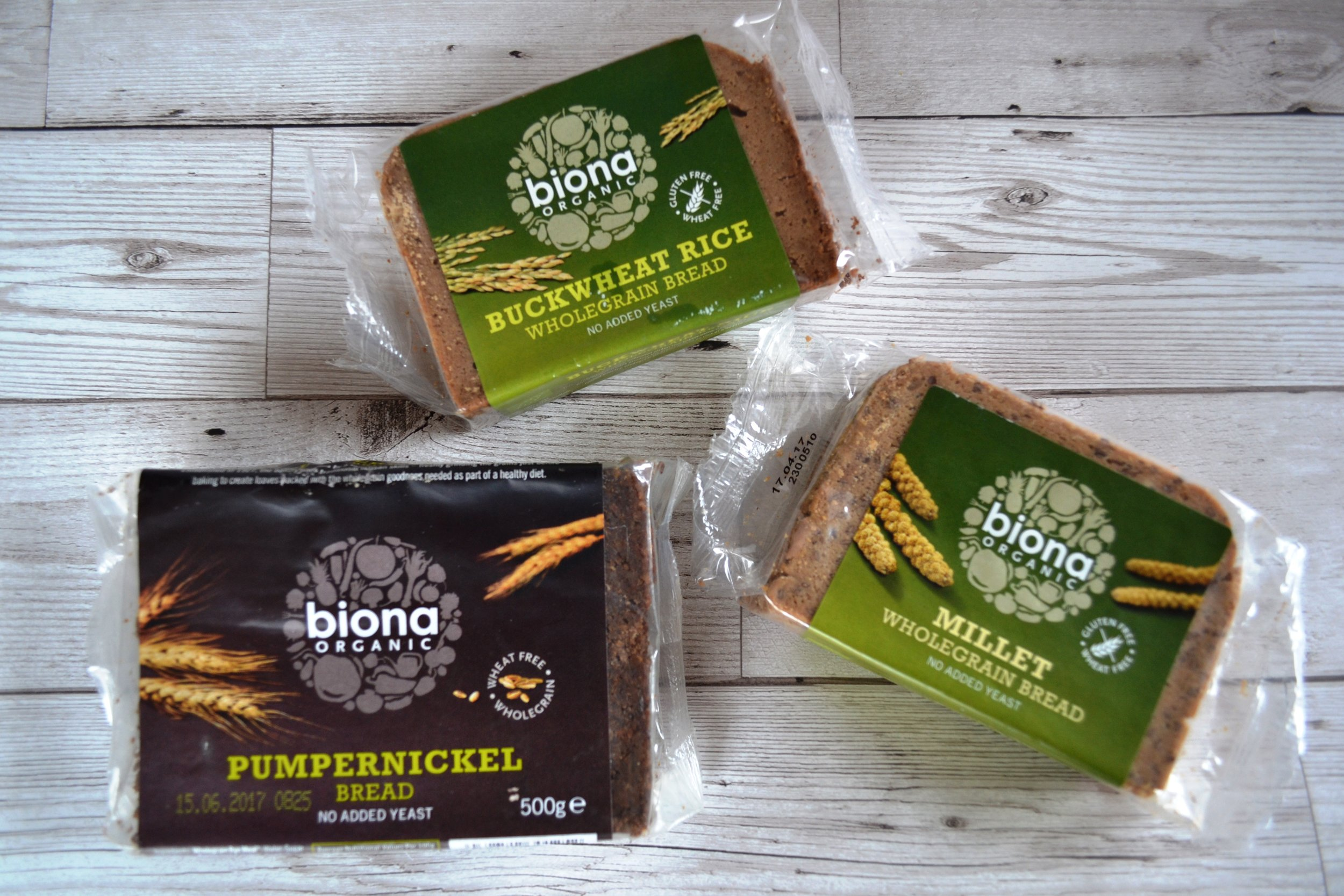 Biona breads on trial
