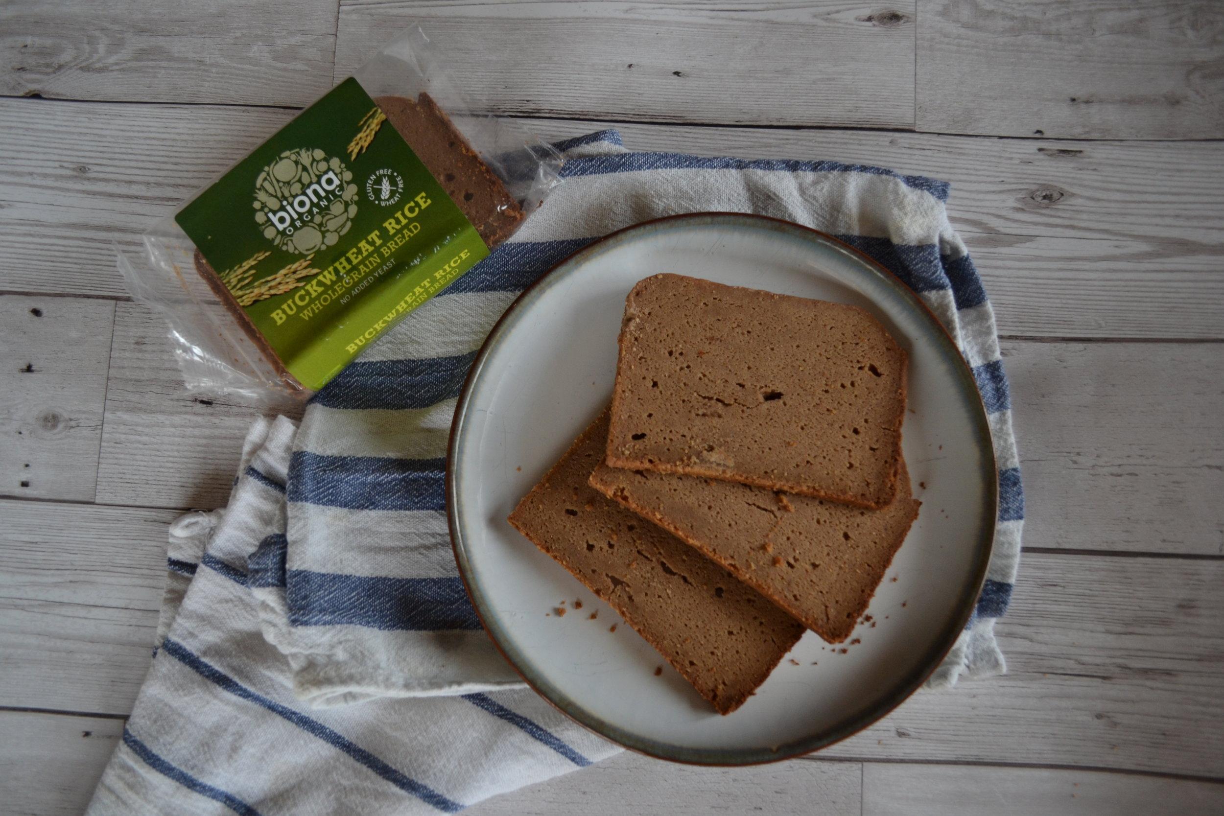 Biona Buckwheat Rice Wholegrain Bread