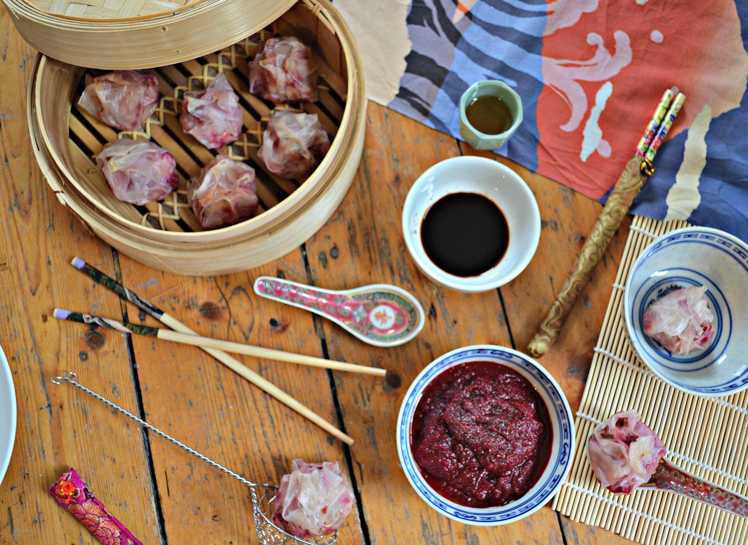 Easy dim sum   The Flourishing Pantry   yeast free diet blog