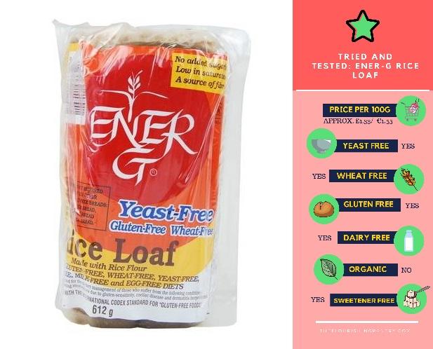 Ener-G Rice Loaf | The Flourishing Pantry | yeast free diet blog