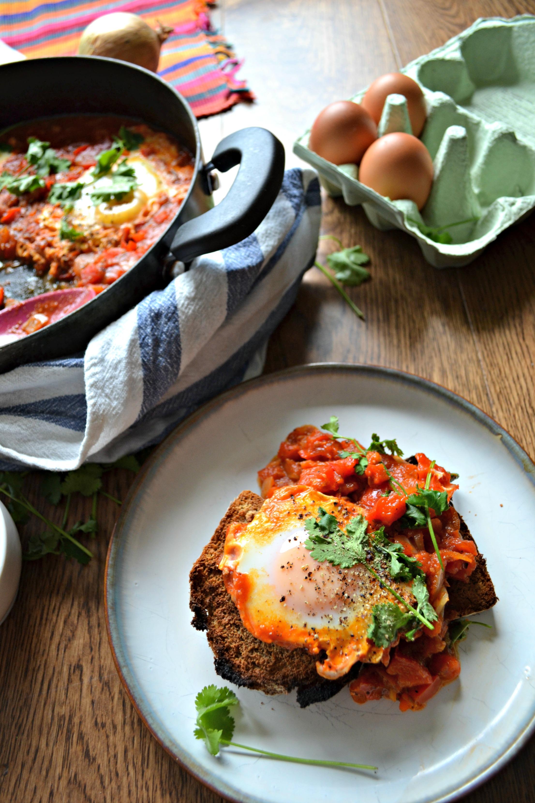 Shakshuka recipe | The Flourishing Pantry