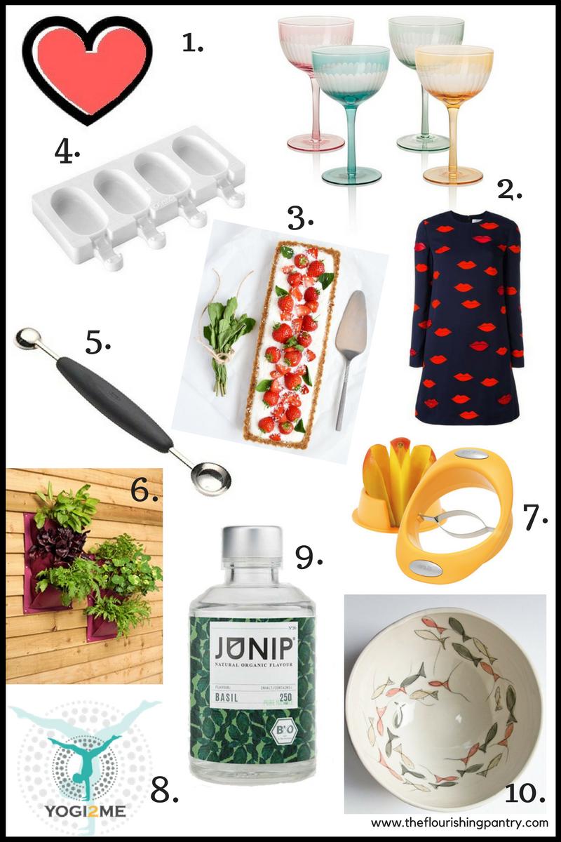 Summer Wish List 2017 | The Flourishing Pantry | healthy eating blog