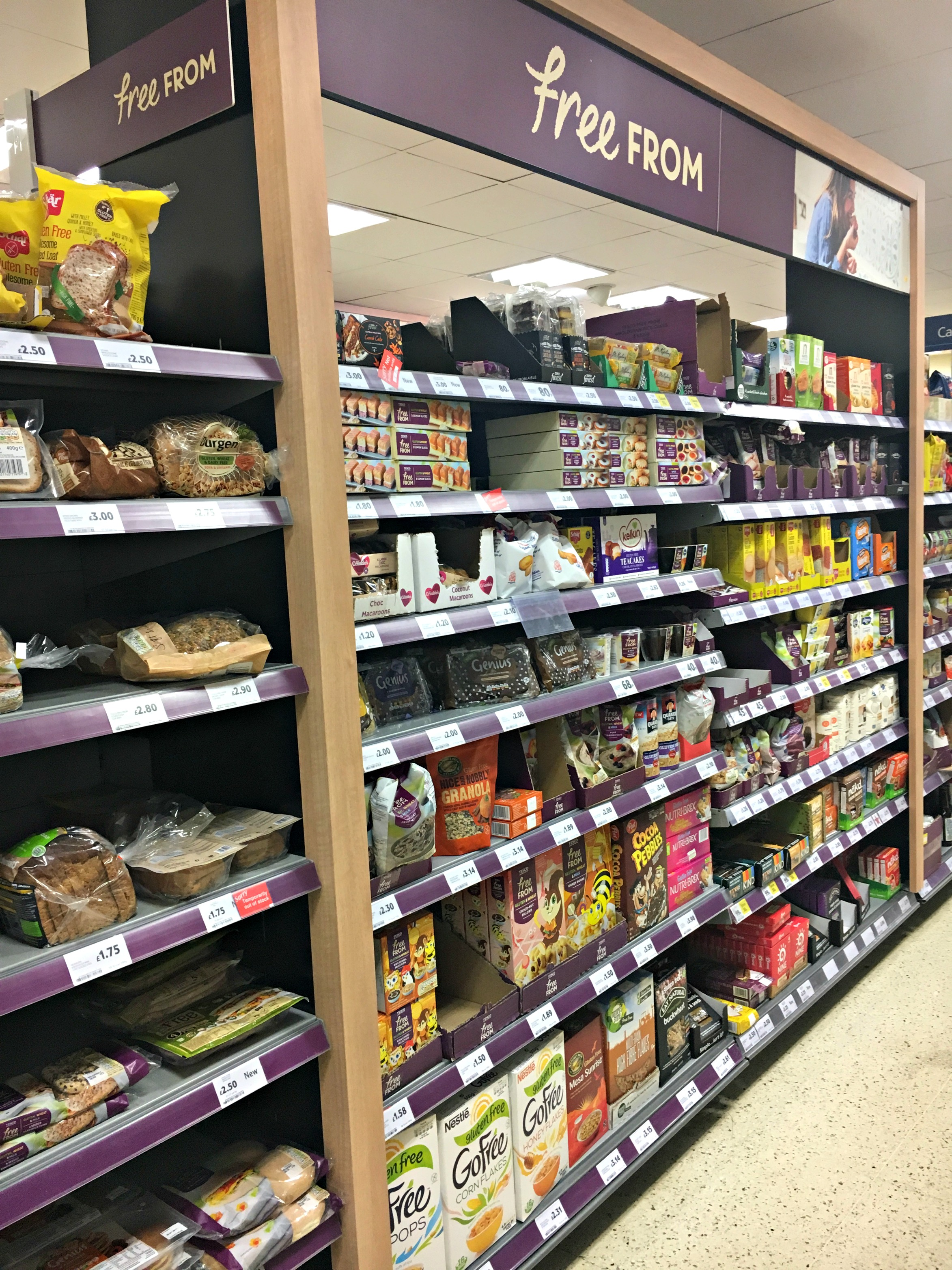 Free from aisle | The Flourishing Pantry | healthy eating blog