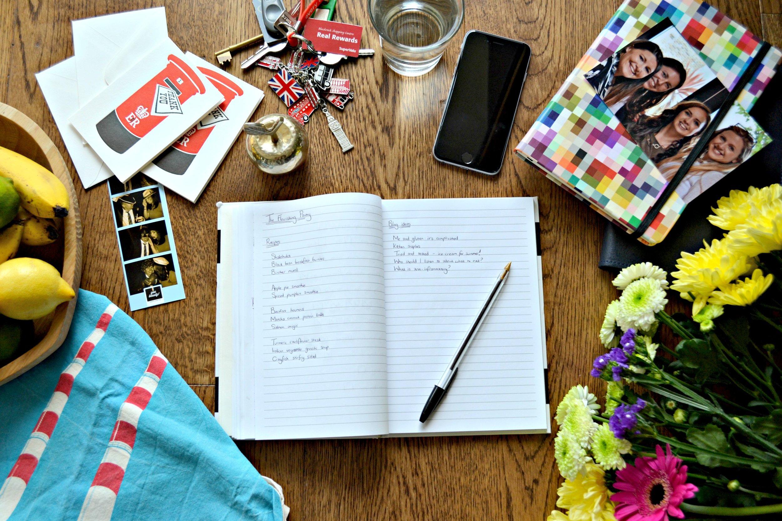 Blogging | The Flourishing Pantry | healthy eating blog