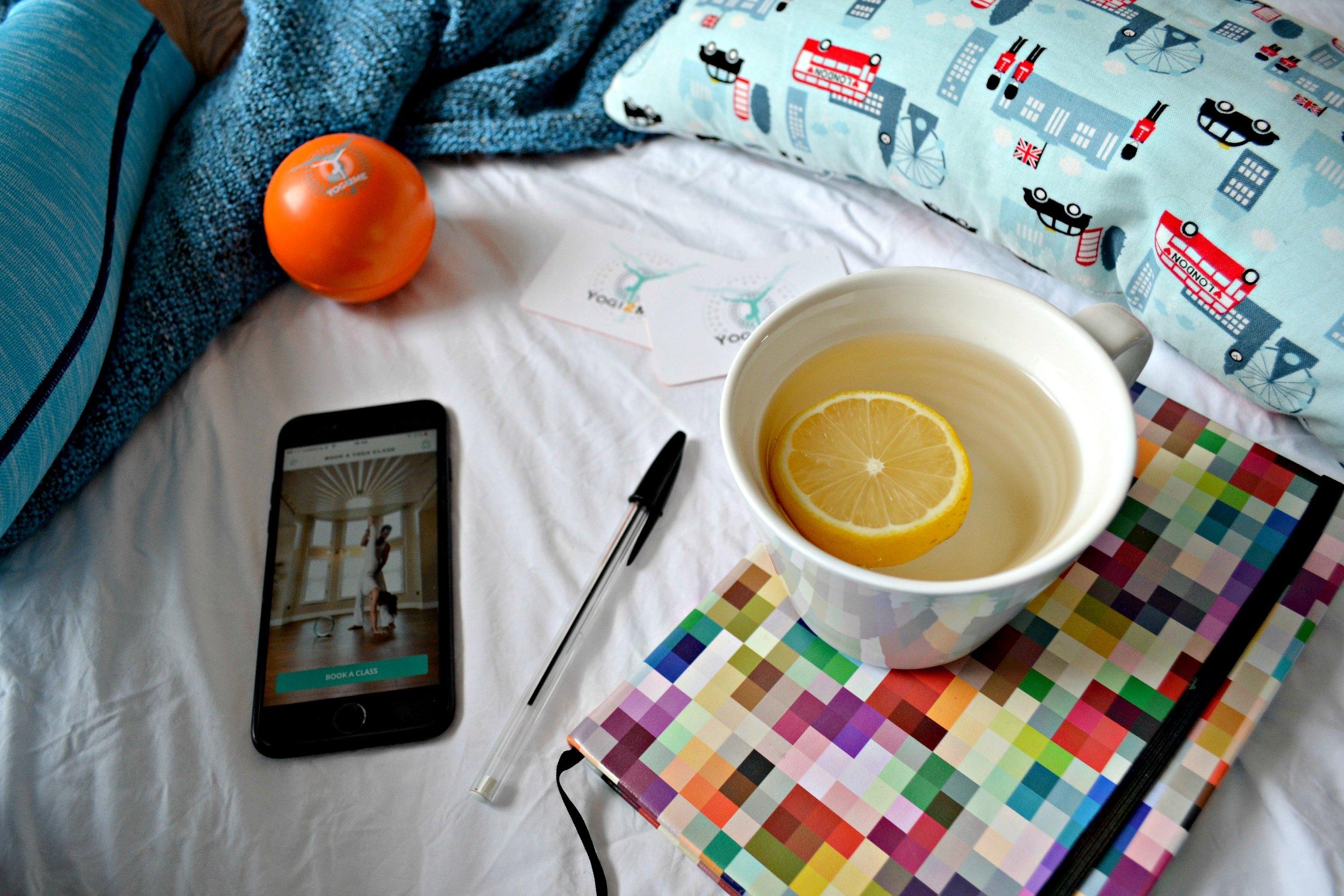 Yogi2Me app   The Flourishing Pantry   healthy eating recipe blog