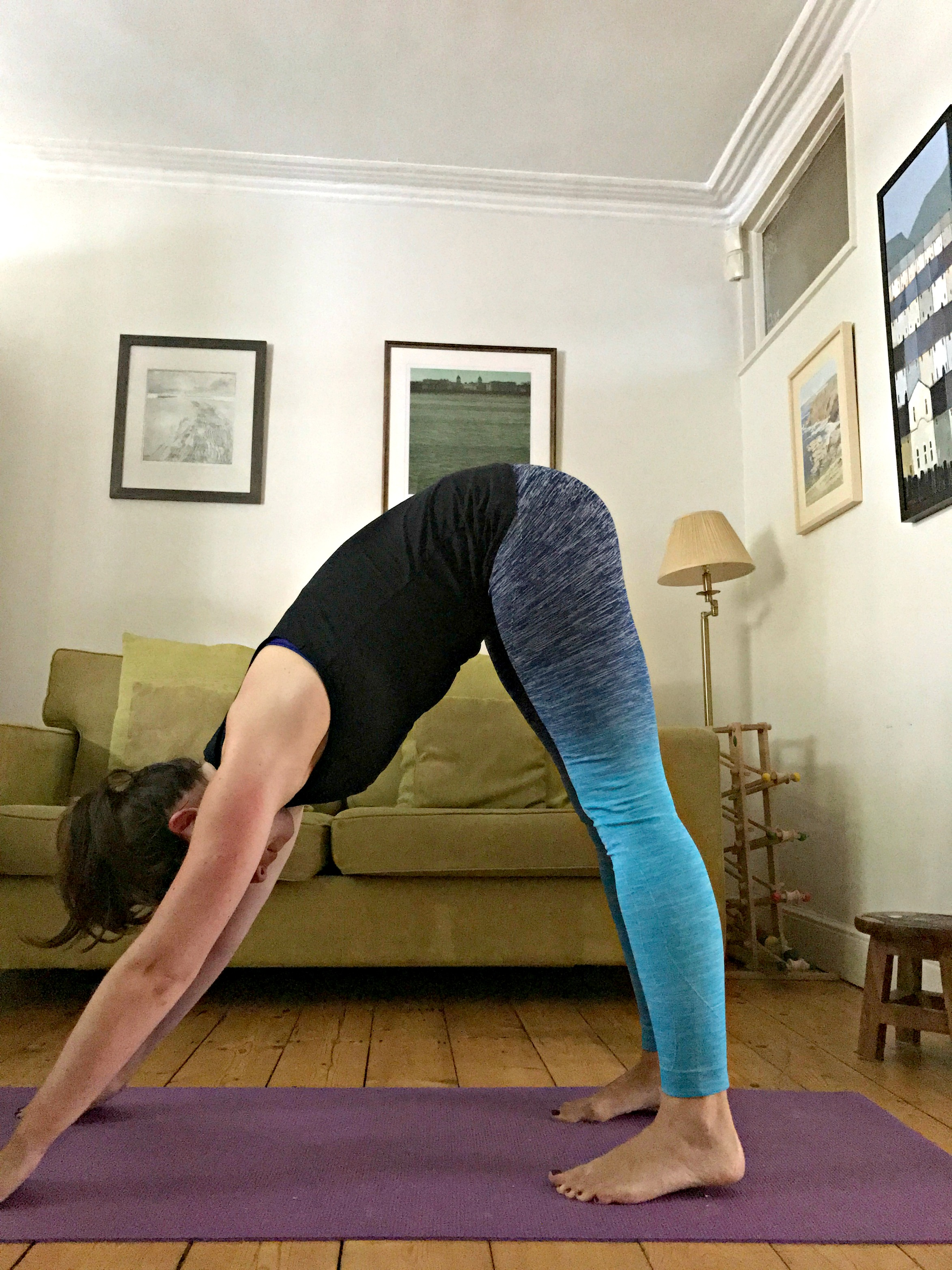 Downward dog - you knew that one already, right?!