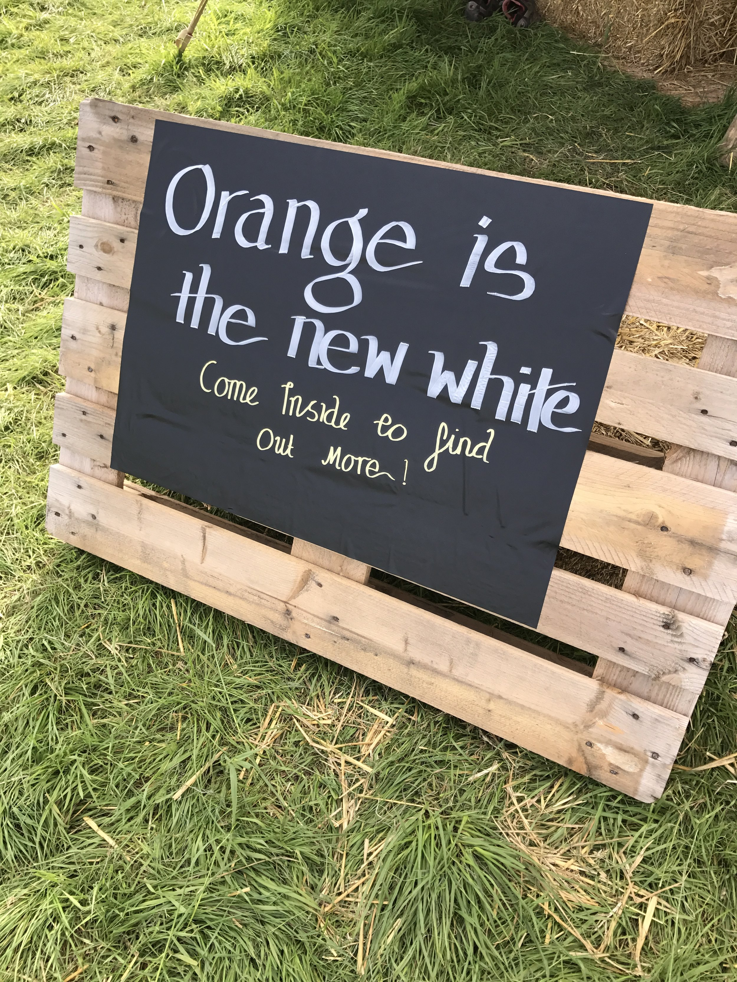5. Orange is the new white when it comes to wine