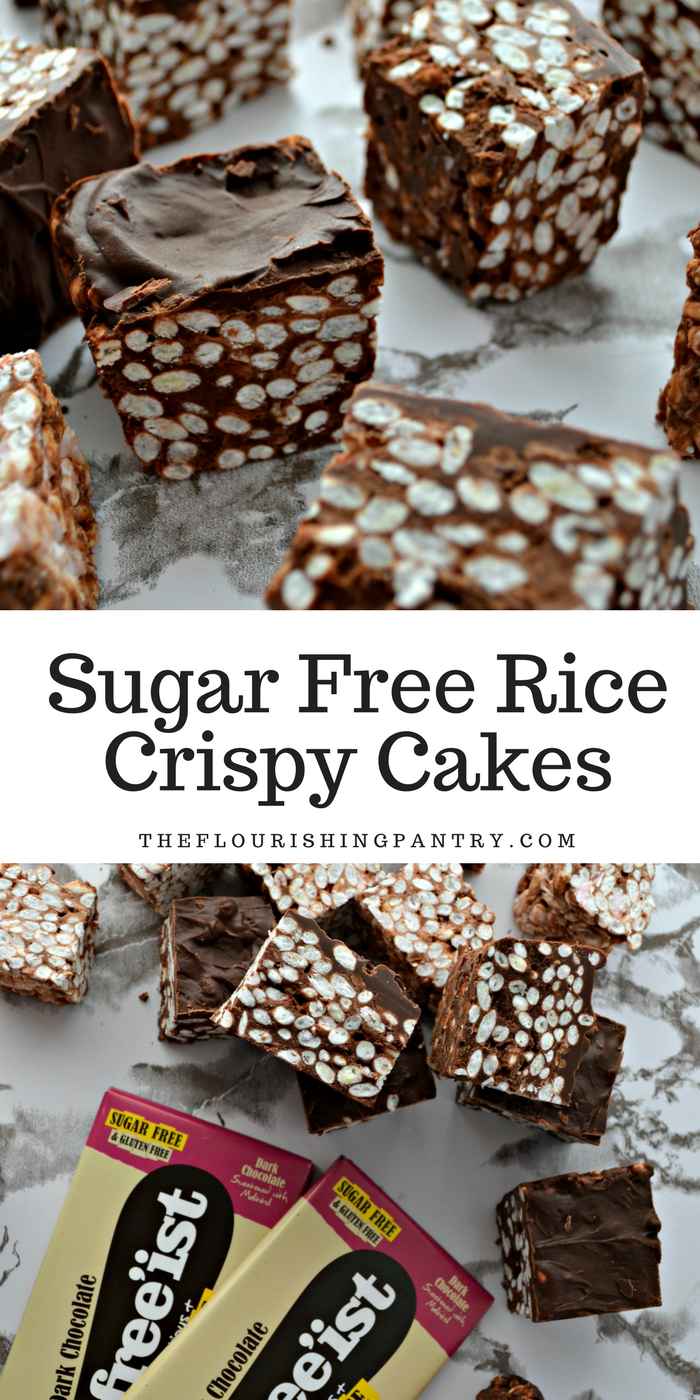 Sugar Free Rice Crispy Cakes | The Flourishing Pantry