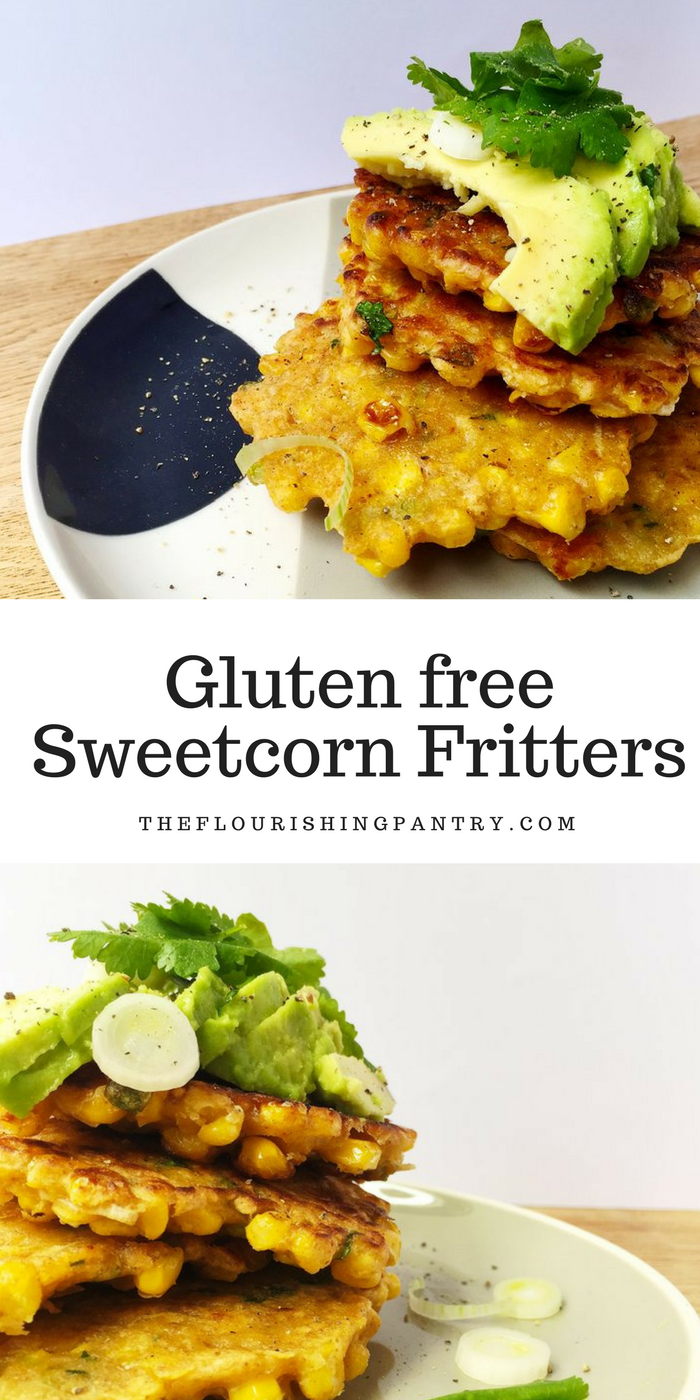 Sweetcorn fritters | The Flourishing Pantry