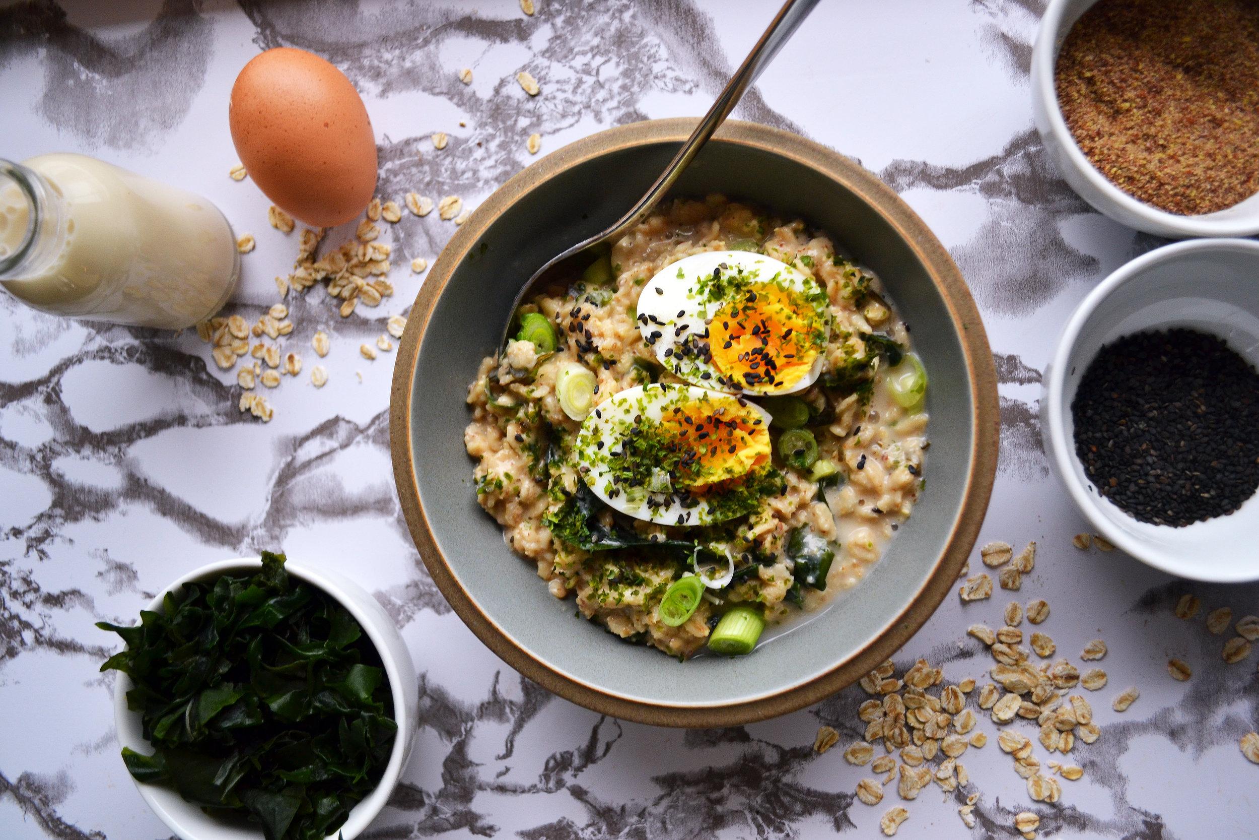 Miso oats   The Flourishing Pantry
