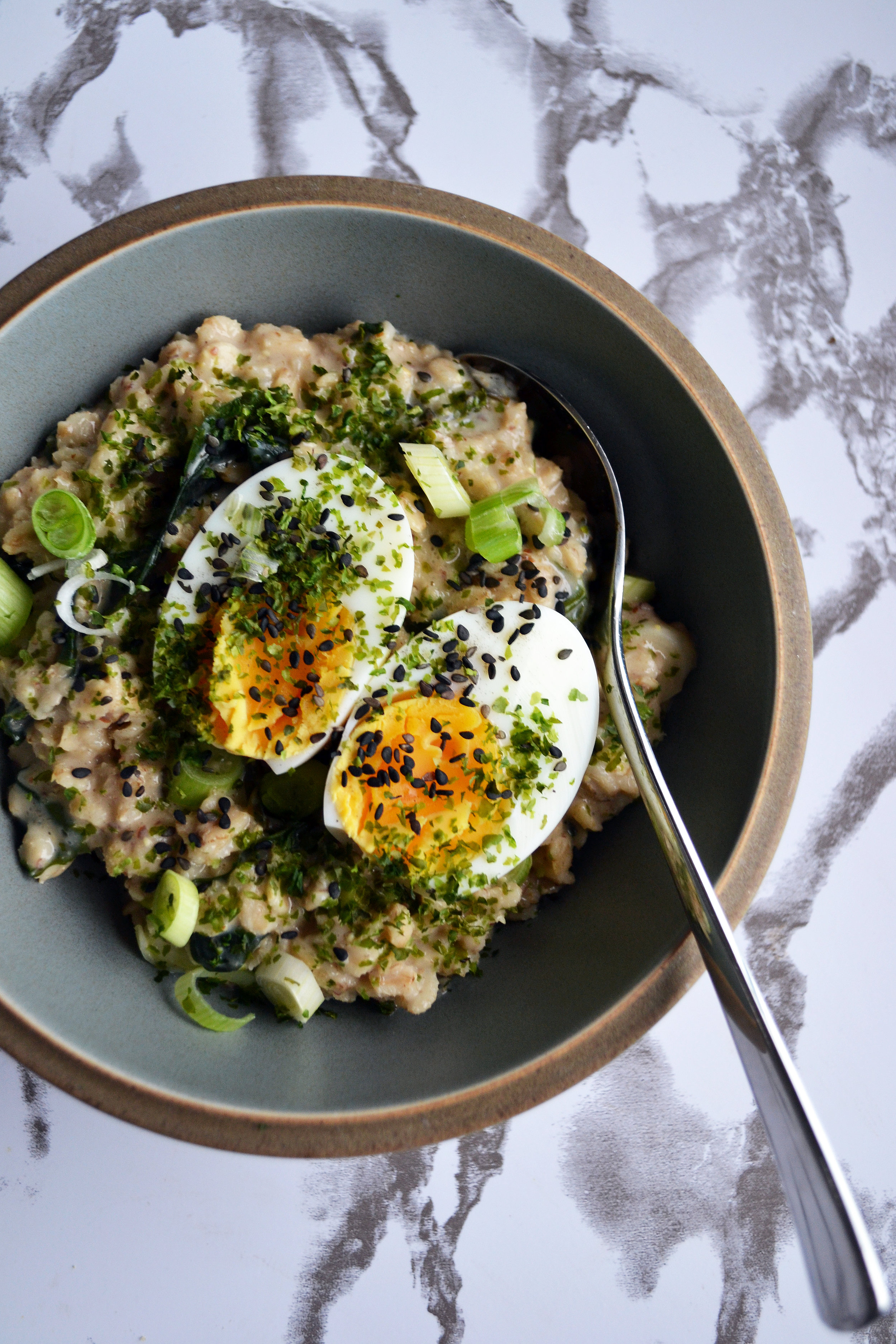 Miso and wakame oats   The Flourishing Pantry