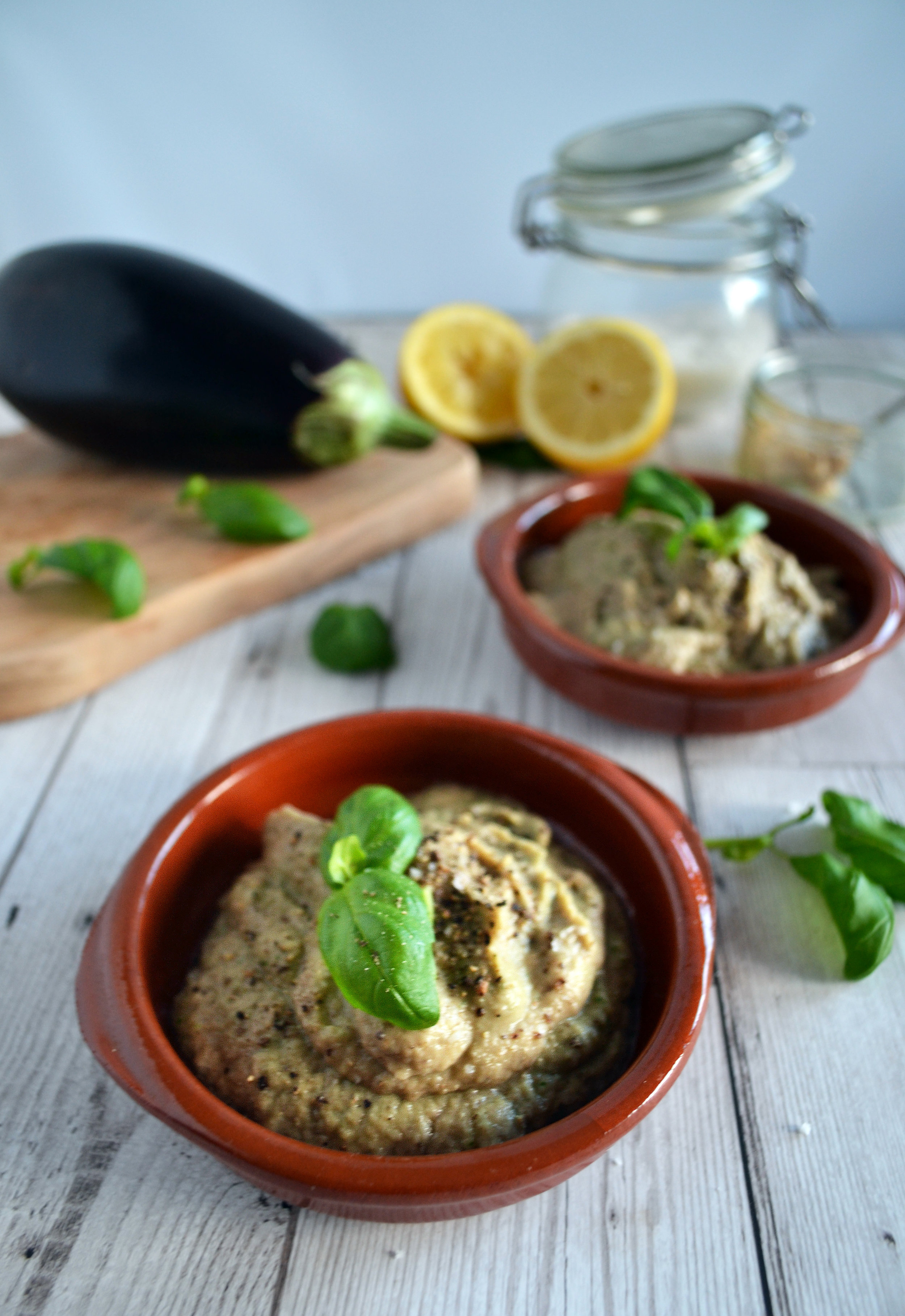 Basil Baba Ganoush recipe | The Flourishing Pantry