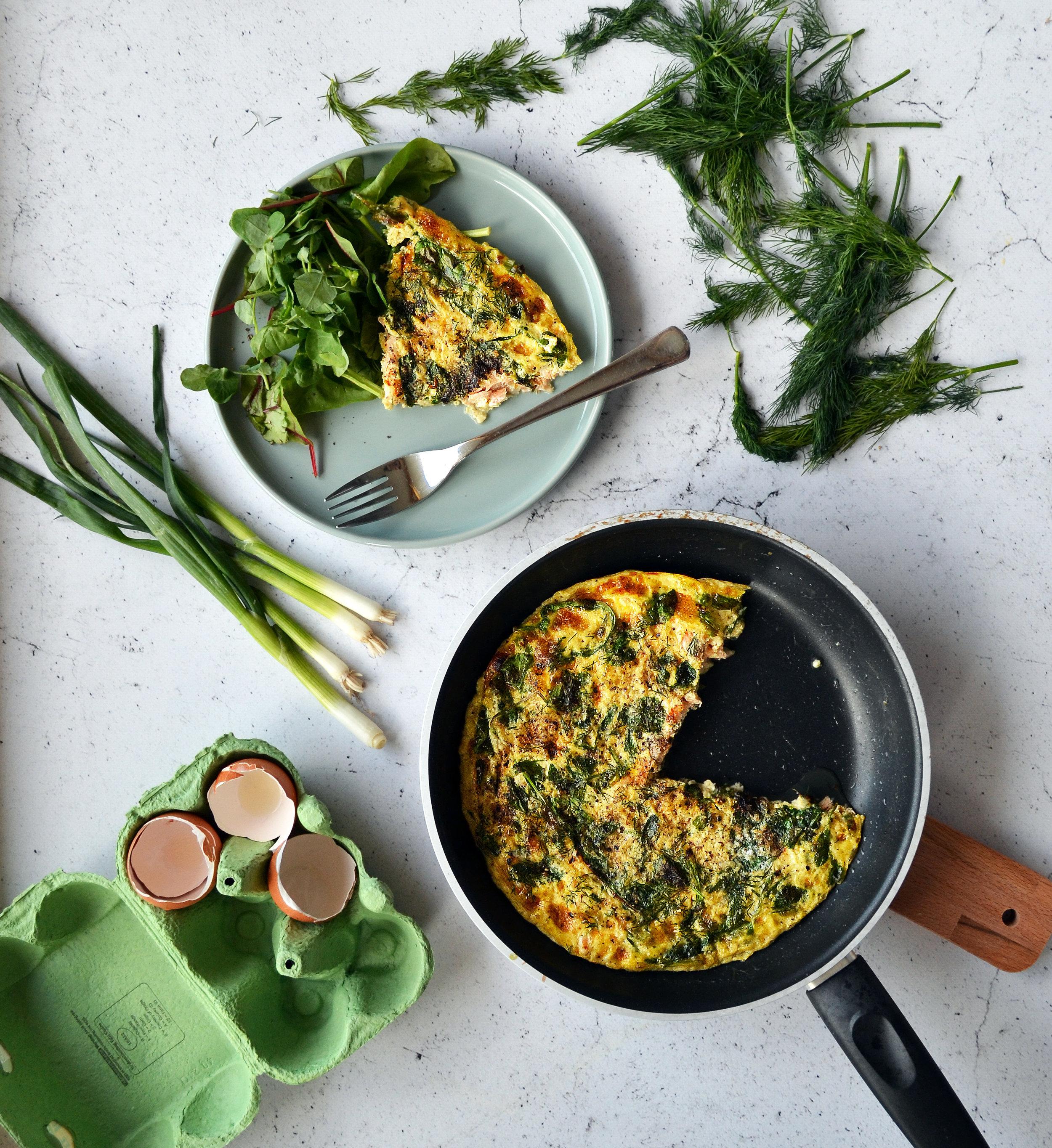 Frittata recipe | The Flourishing Pantry