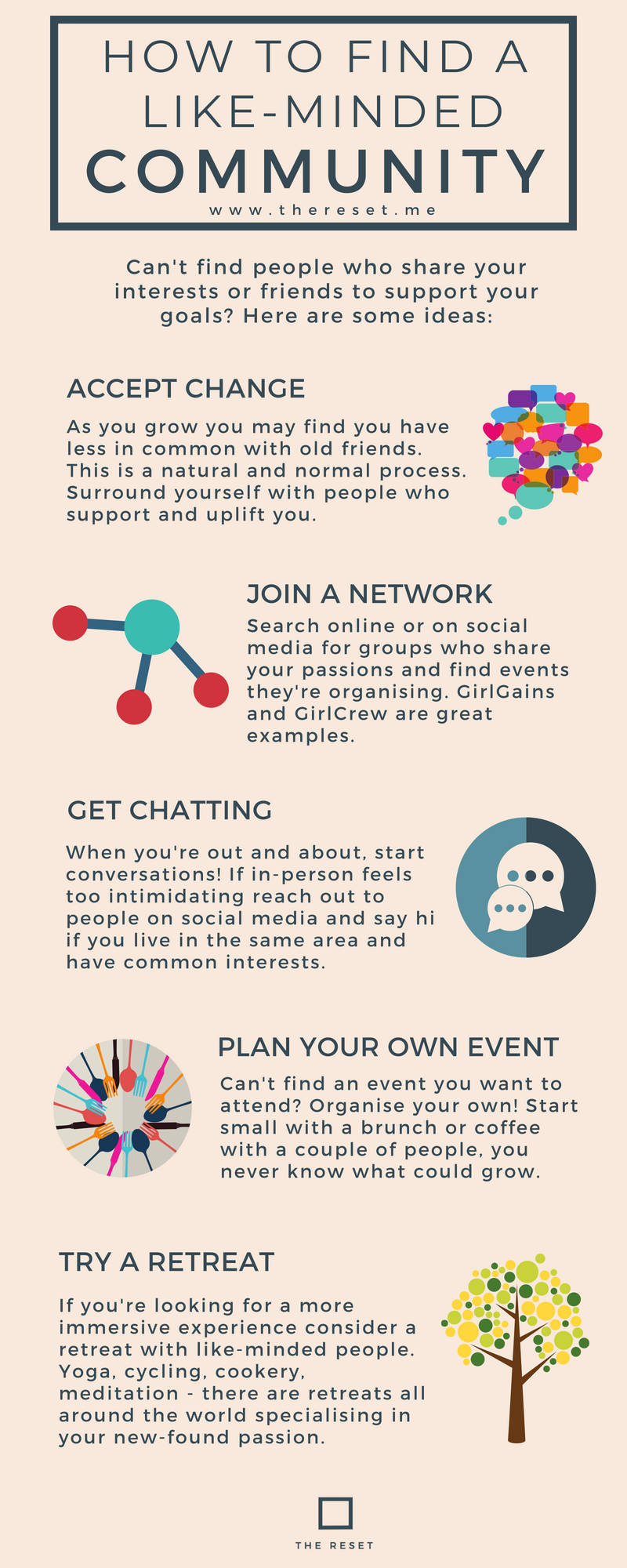 How to find like minded friends | The Reset