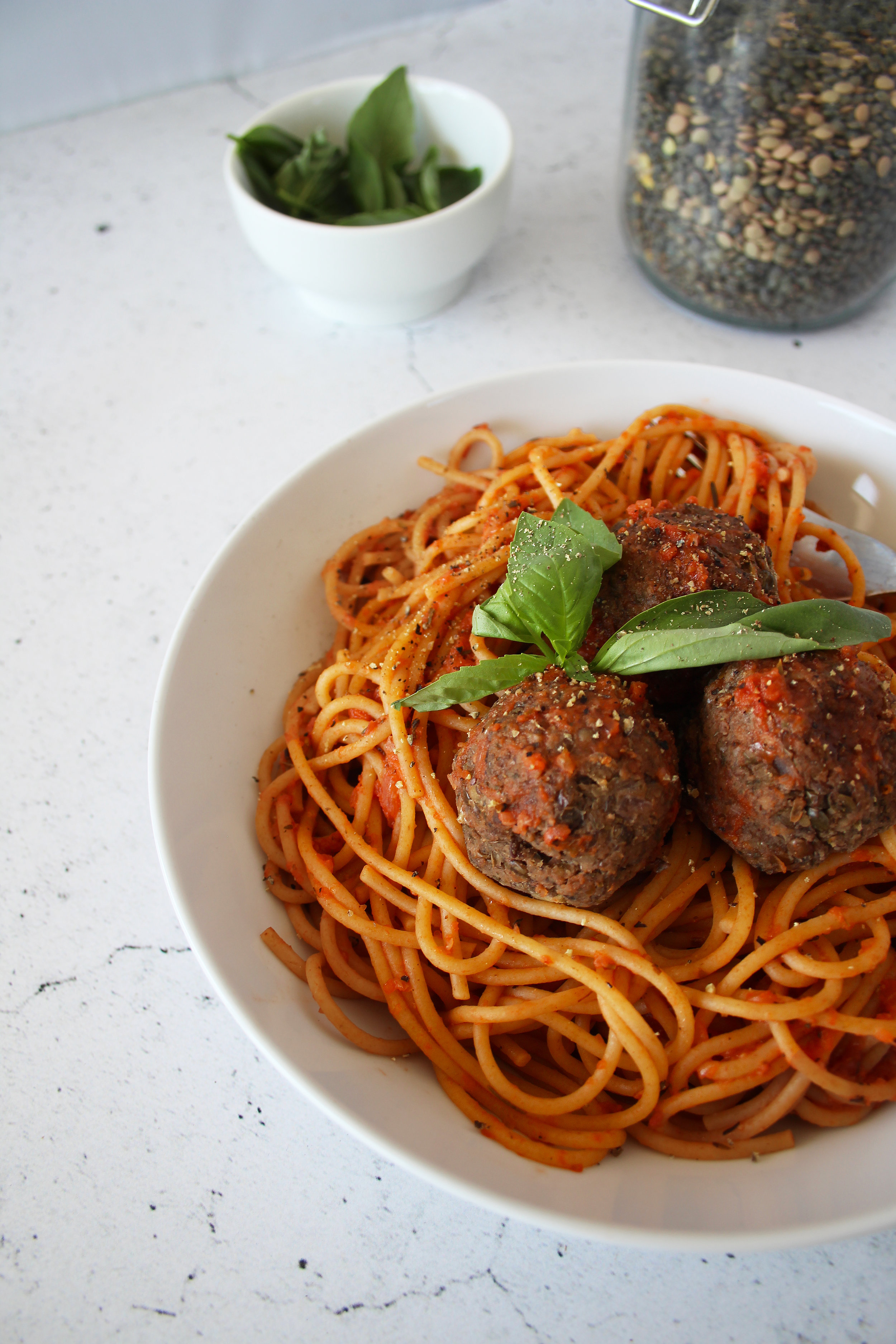 Lentil meatballs The Flourishing Pantry