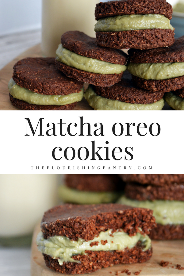 Matcha oreo cookies | The Flourishing Pantry.png