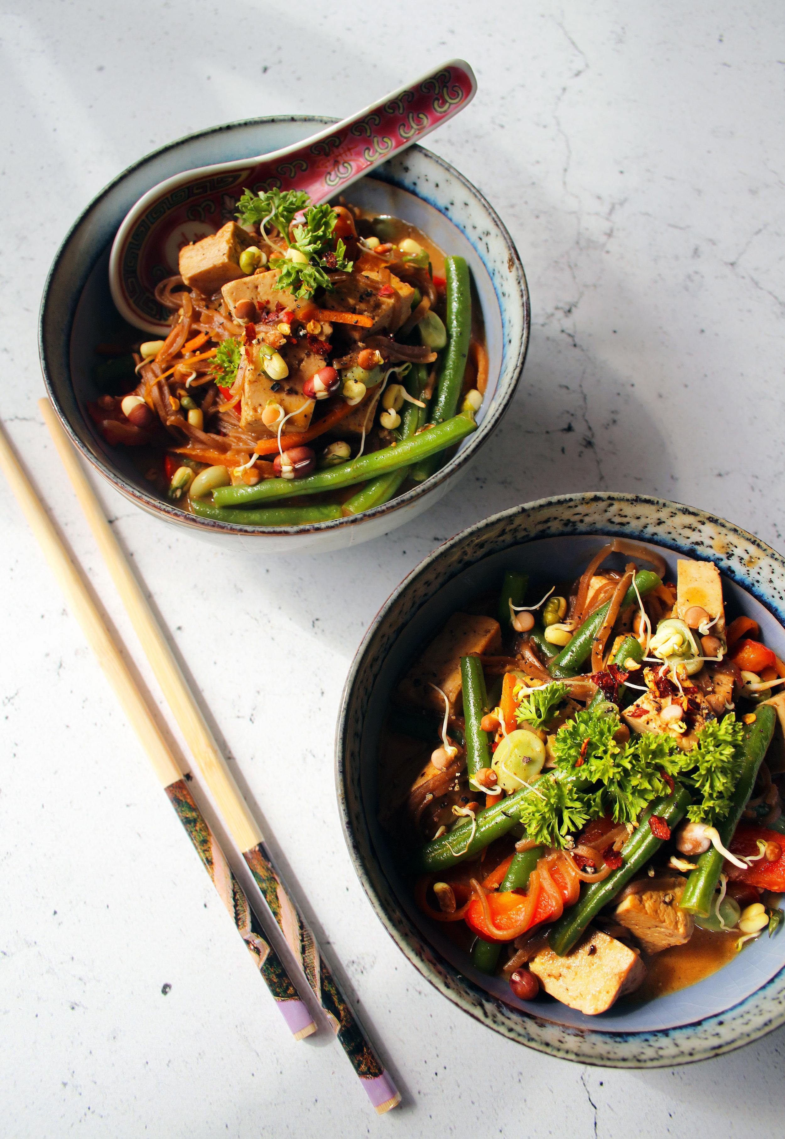 Spicy tofu recipe | The Flourishing Pantry