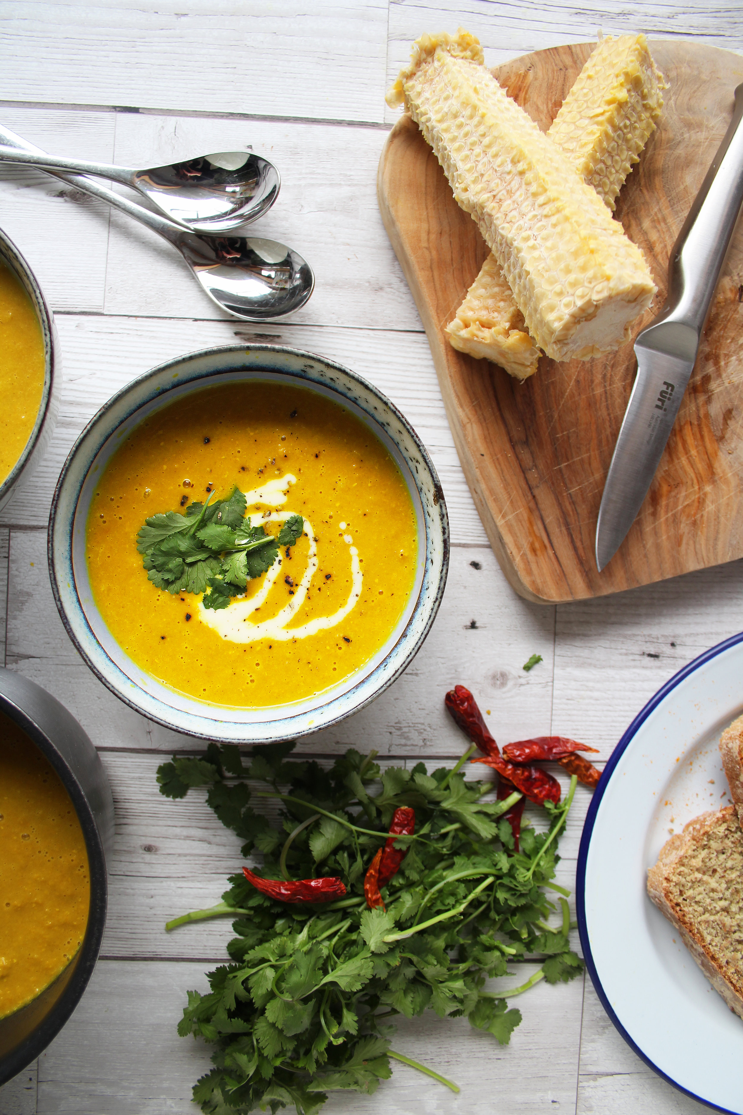 Healthy sweetcorn chowder recipe   The Flourishing Pantry