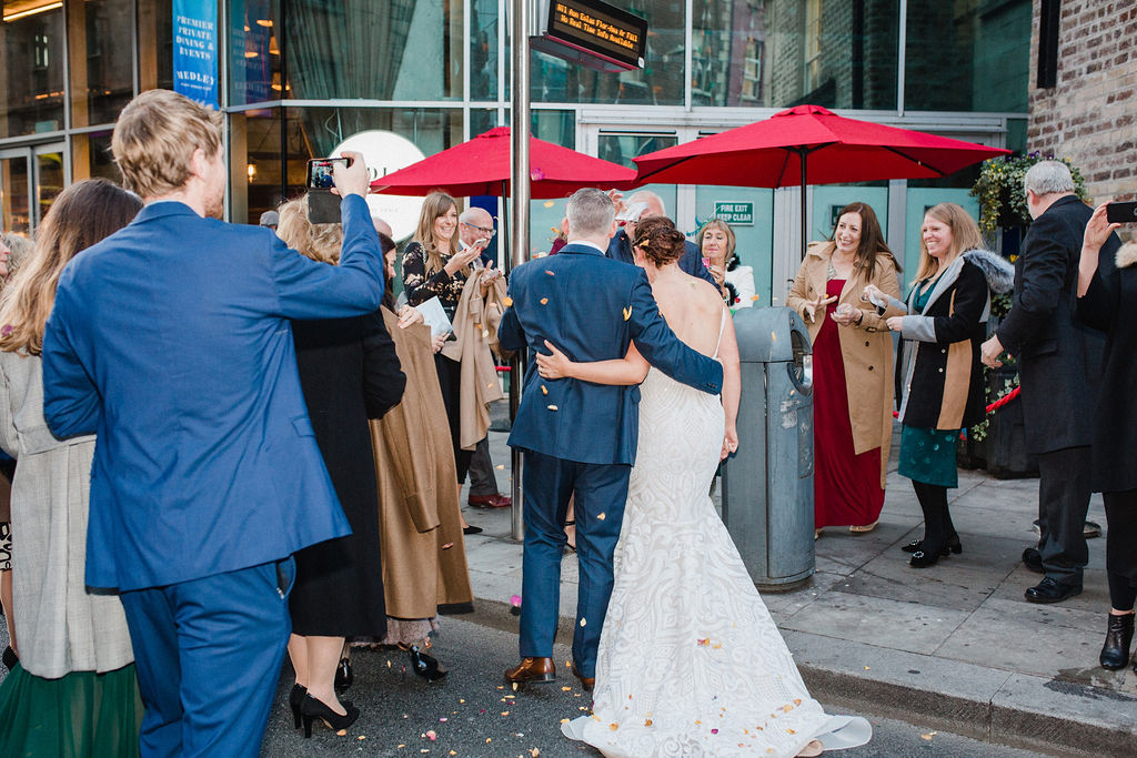 Dublin wedding | The Flourishing Pantry