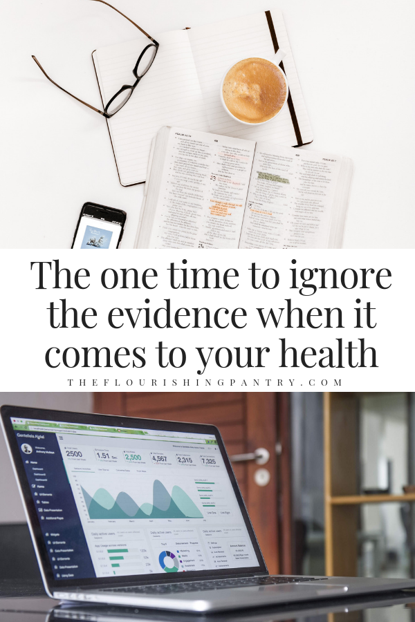 When evidence isn't important in wellness | The Flourishing Pantry