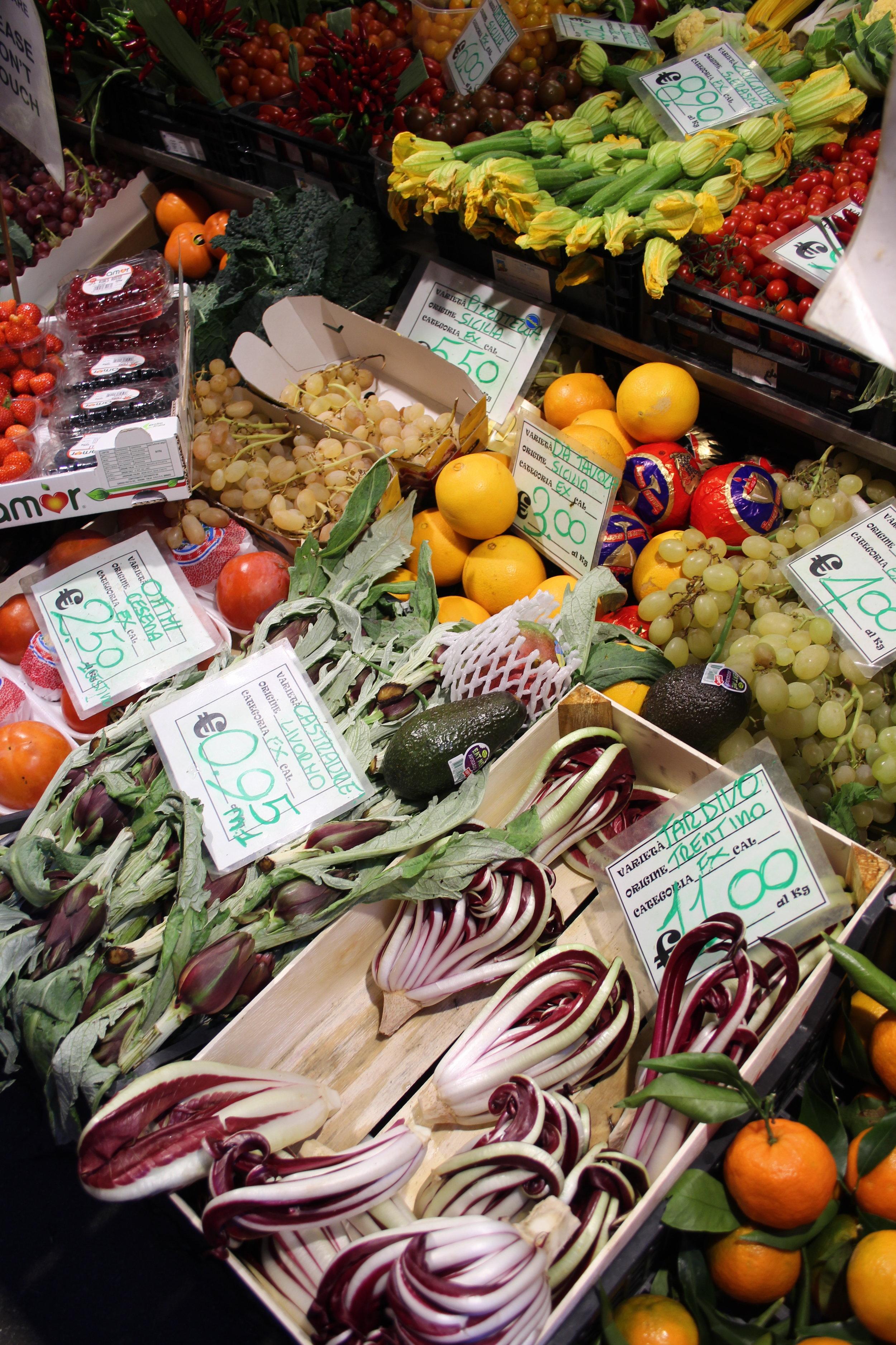 Some seasonal veggies I spotted in Venice