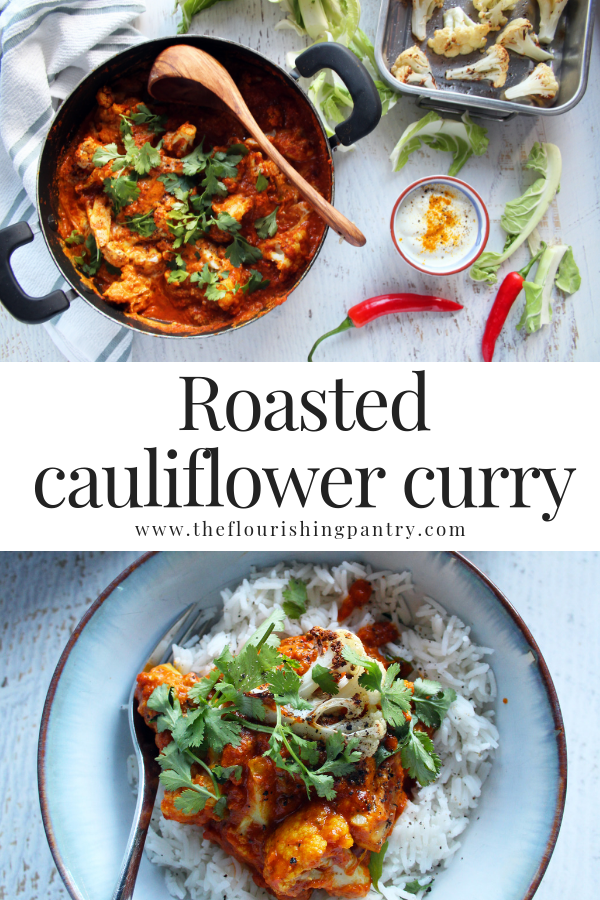 PINTEREST | Roasted cauliflower curry | The Flourishing Pantry.png