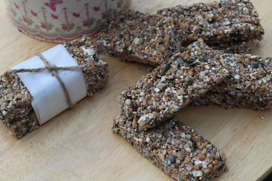 Granola bars | The Flourishing Pantry