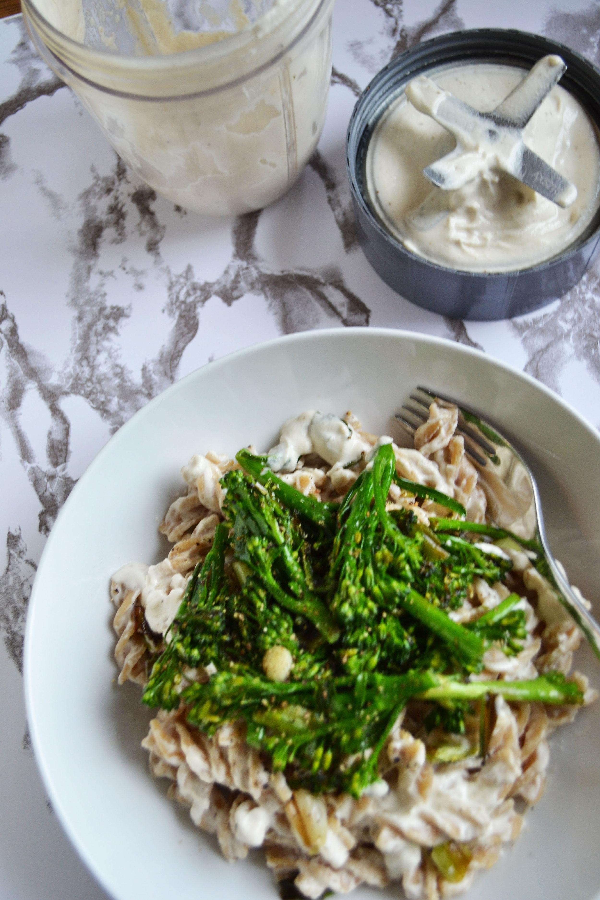 Creamy cashew pasta | The Flourishing Pantry
