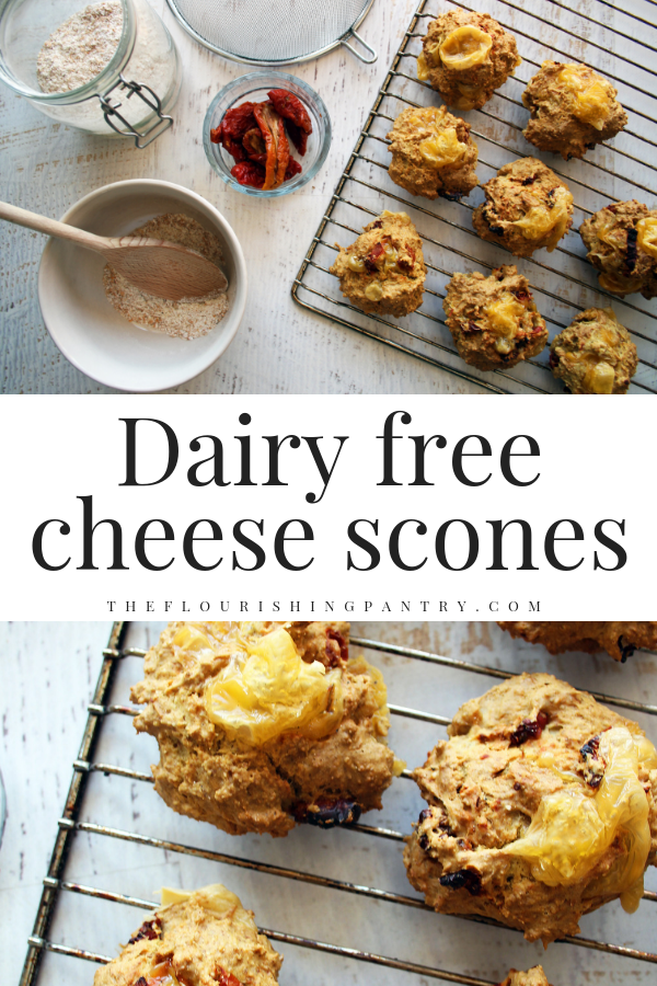 PINTEREST | Dairy free cheese scones | The Flourishing Pantry.png