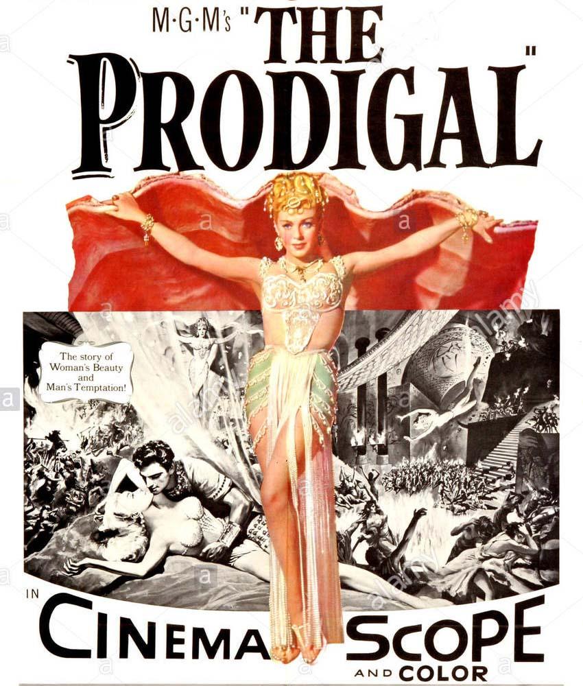 the-prodigal-us-poster-lana-turner-1955-E5MNG4.jpg