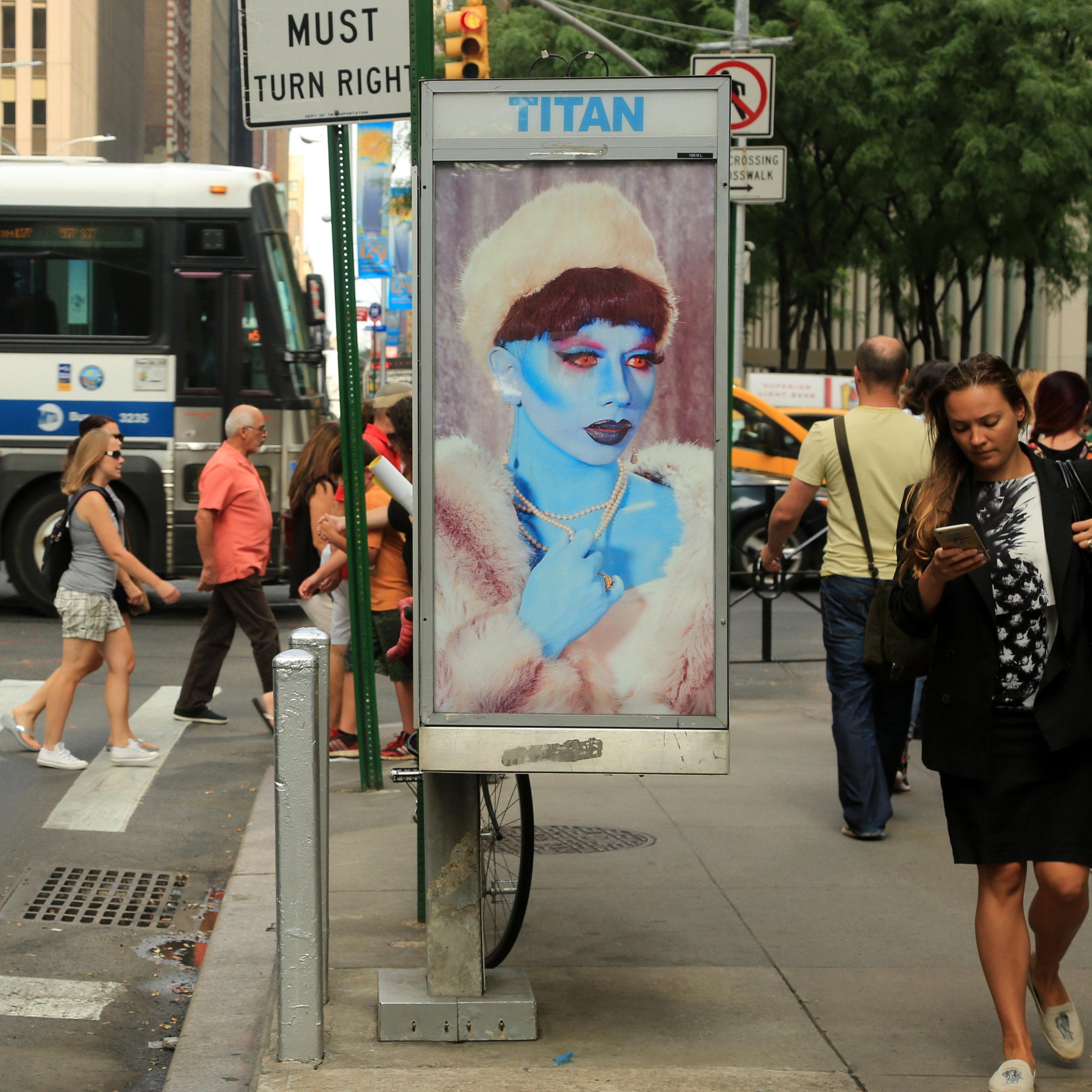 Blue Lady by Parker Day. Photo by Luna Park.