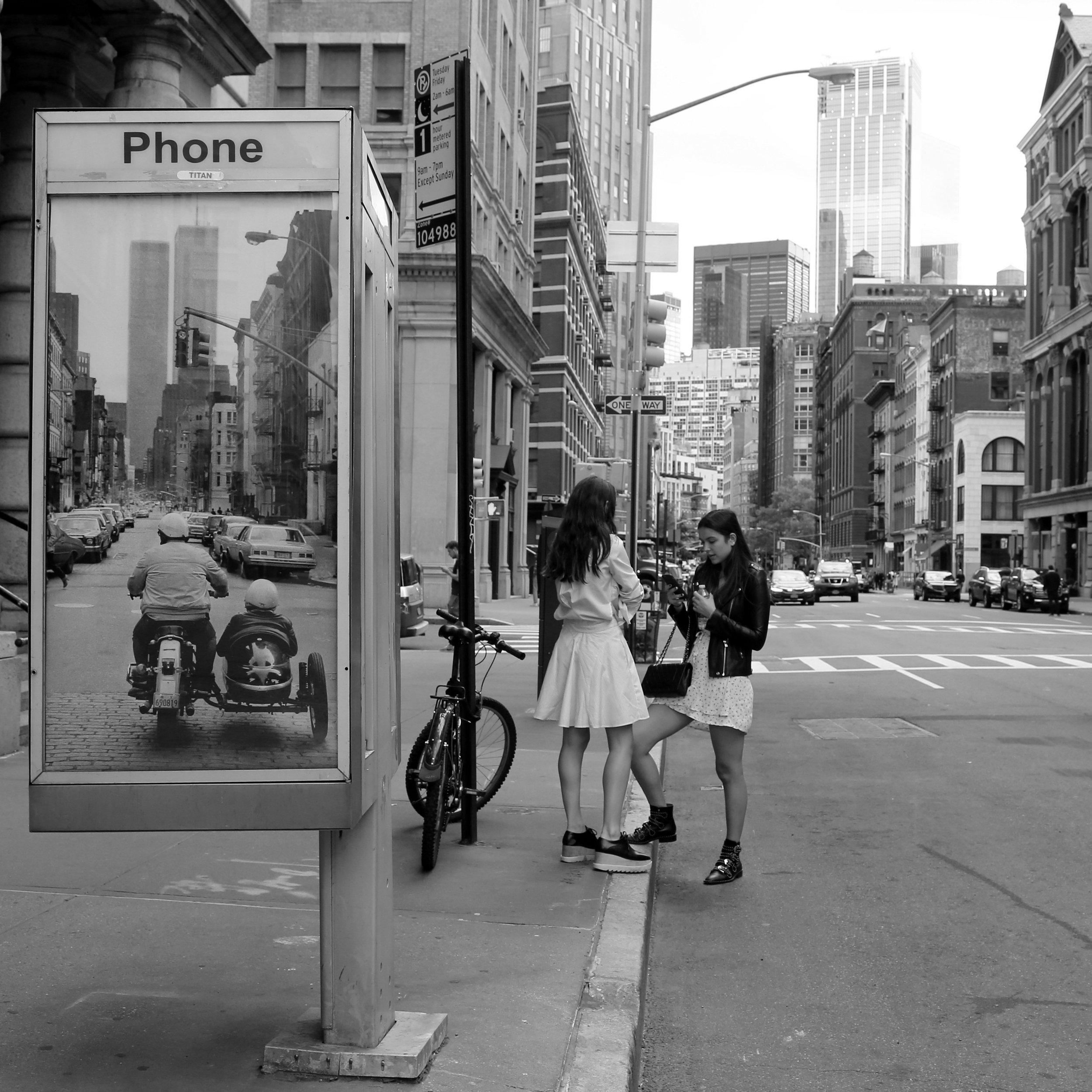 Original photo by Martha Cooper. Installation photo by Luna Park.
