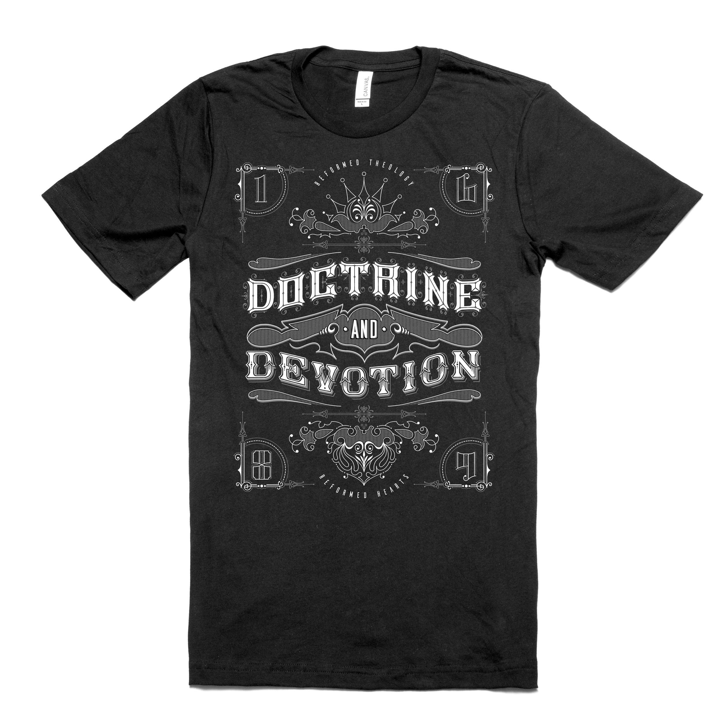 Did you get your official Doctrine and Devotion tee?  Go get some !