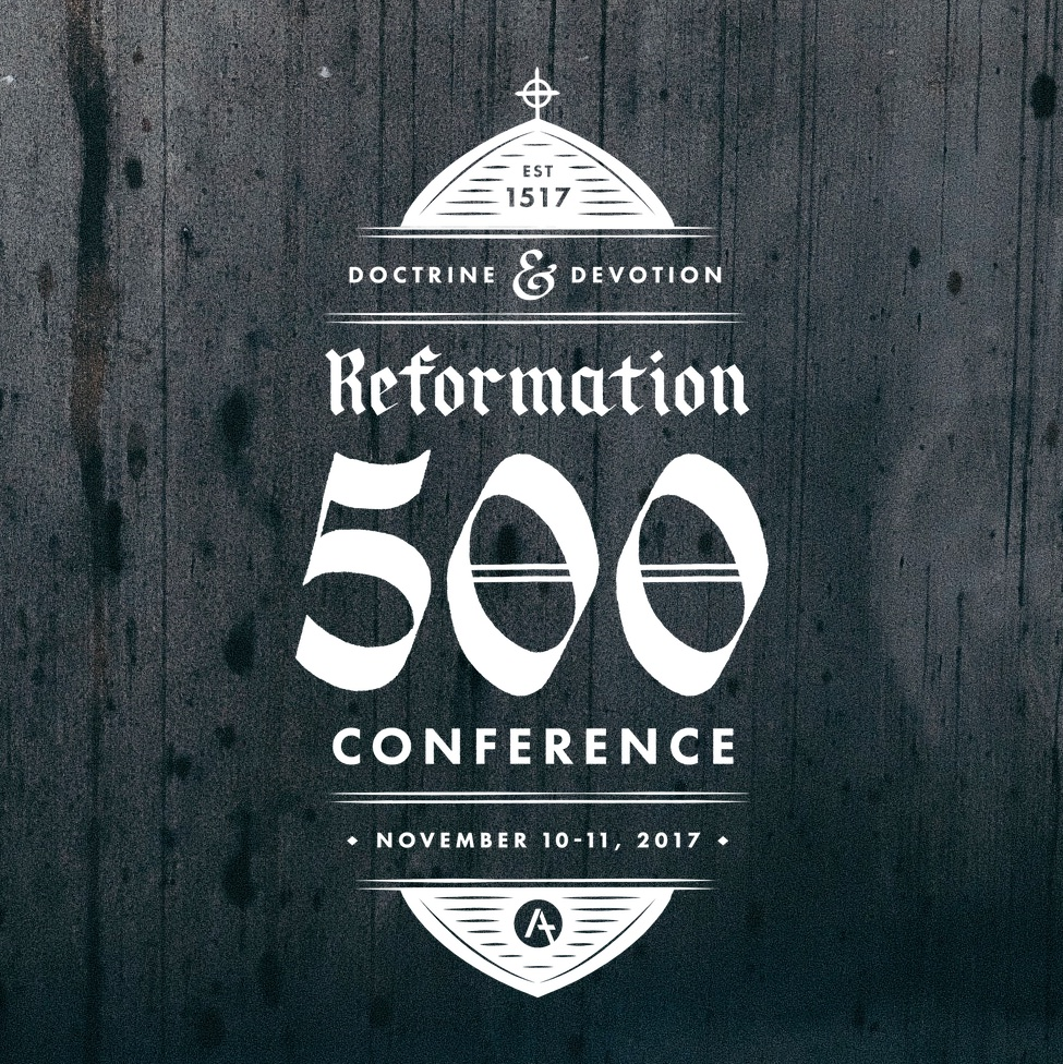 Be sure to check out the  Reformation 500 Conference in New Zealand , and our friend and artist  Jordan Singer  who designed the conference logo.