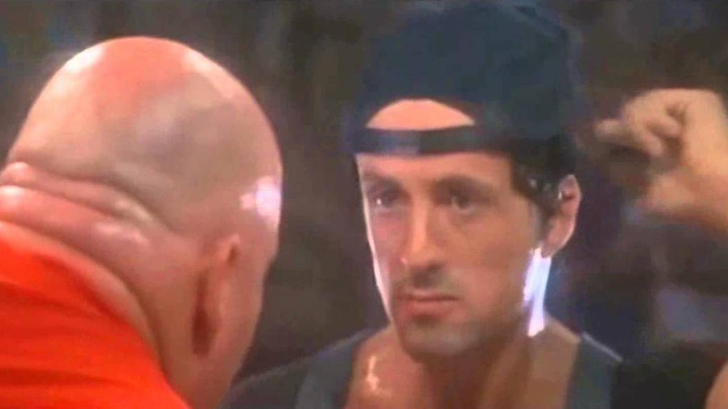 """Jimmy wears his hat like Stallone in """"Over the Top."""""""