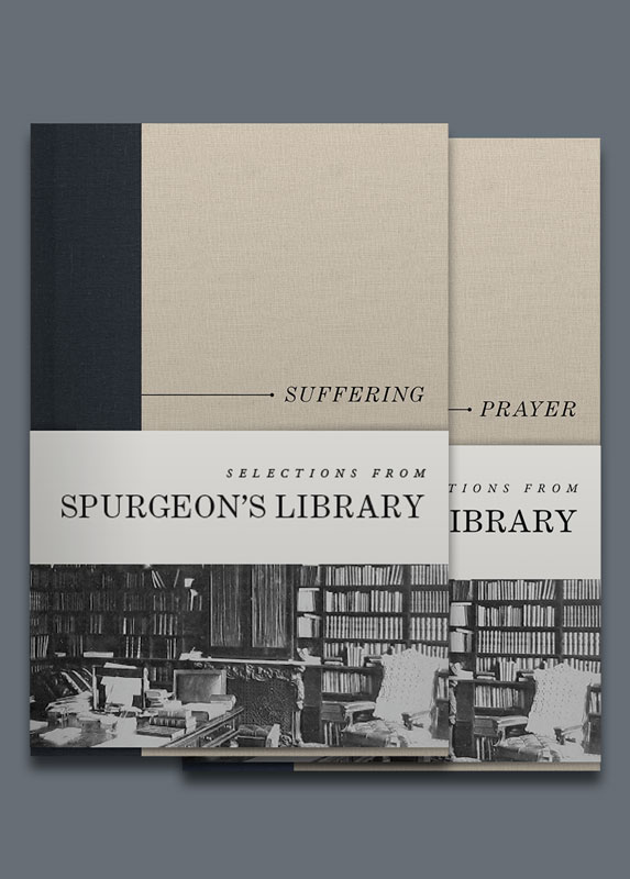 Selections from Spurgeon's Library: Suffering or PRAYER - —Courtesy of B&H Academic
