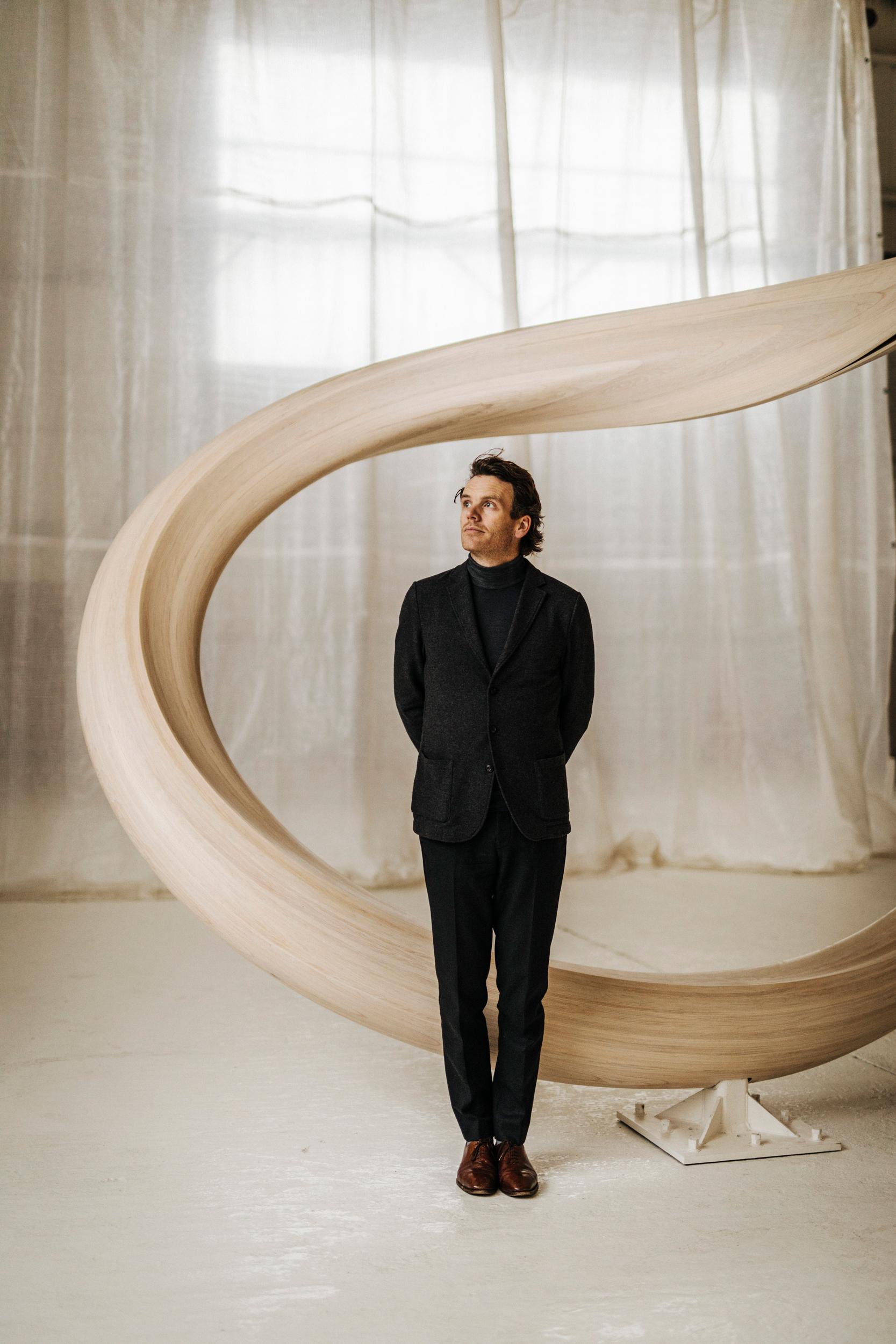 Sculptor Joseph Walsh