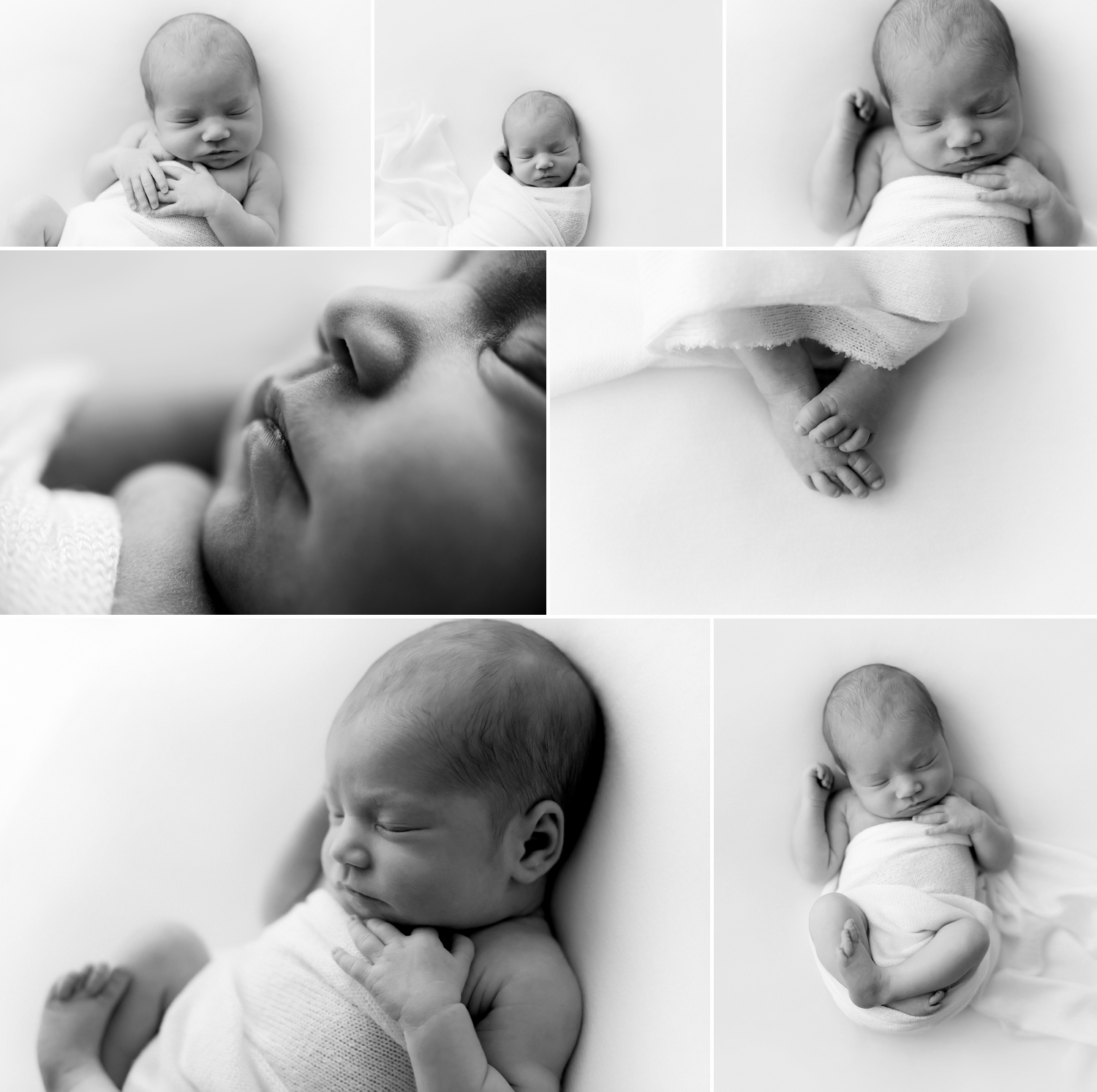 Natural artistic newborn photography in NYC by esteemed maternity and newborn photographer  Lola Melani. Fine-Art b&w newborn photos