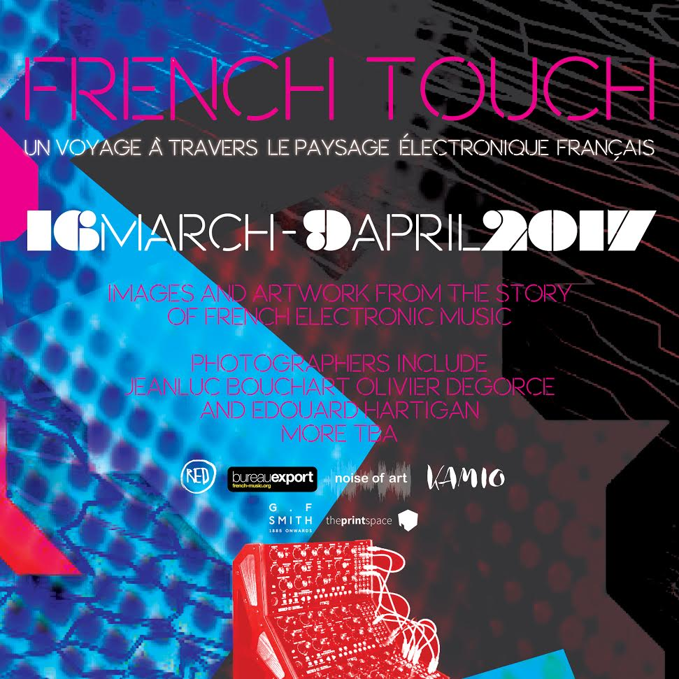 """Red Gallery and Noise of Art present French Touch - An exhibition of French electronic Music  Open to members of the public, tonight's pre-launch event will feature a panel discussion on the unique contribution that France has made to electronic music.  The night begins with an extremely rare UK live performance in the Kamio Bar by French electronic pioneer Jean-Jacques Birgé and an exclusive showing of Paris/ Berlin.  Pioneering musician and composer Jean-Jaques Birgé started making electronic music when he was only 13-years-old in 1965, was one of the first live synthesiser players in France and is credited with re-introducing live film scores in the 1970s.  Paris/Berlin: 20 Years of Underground Techno:tells the story of two European techno cities, from secret Parisian parties to Berlin's infamous Berghain club. It documents the underground movement through the stories of the DJs, producers, label managers, promoters, record shops and other people that created the scene.  The panel will feature photographers whose work is featured in the exhibition, the founder of Chateau Perché, a French electronic music and art festival, and Professor Martin James, the journalist that first coined the term """"French touch... in a 1996 Melody Maker column"""" (The Guardian).  The panel will be followed by DJ sets from Ben Osborne and the exhibition will be open for viewing all night.  About the Panel:  Olivier Degorce has been documenting the French electronic club scene since its inception in the late Eighties. As well as being a photographer, he also produced music for such seminal French labels as Prozak.  Edouard Hartigan is young photographer who has been filming the new wave of electronic music sweeping through France - epitomised by musicians such as Jacques. Although part of a new wave, Hartigan's passion is sparked by the music's history and its characters, such as Jack de Marseille, who he cites as the main reason he began documenting the scene.  Johann Bouché-Pillon is an a"""