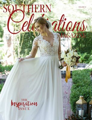Image courtesy of Southern Celebrations Magazine. Cover Photo by  Rachel Erin Photography .