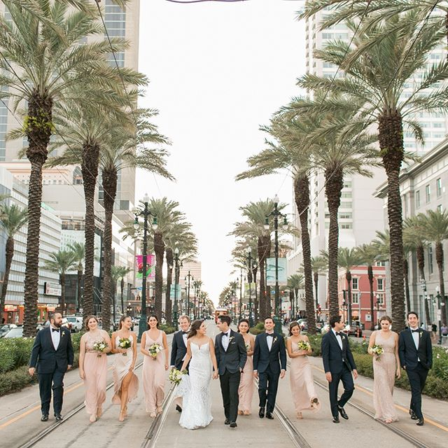 Our amazing bride and groom strutting their stuff through New Orleans next to their favorite guys and gals!⠀⠀⠀⠀⠀⠀⠀⠀⠀ ⠀⠀⠀⠀⠀⠀⠀⠀⠀ Baked Goods: @jcbcreations⠀⠀⠀⠀⠀⠀⠀⠀⠀ Beauty: @verdebeauty⠀⠀⠀⠀⠀⠀⠀⠀⠀ Bridal Apparel: @misshayleypaige at @lotusbridal⠀⠀⠀⠀⠀⠀⠀⠀⠀ Floral: @pickapetal⠀⠀⠀⠀⠀⠀⠀⠀⠀ Grooms Apparel: @theblacktux⠀⠀⠀⠀⠀⠀⠀⠀⠀ Paper Goods: @papertieaffair_⠀⠀⠀⠀⠀⠀⠀⠀⠀ Photography: @artedevie⠀⠀⠀⠀⠀⠀⠀⠀⠀ Rentals: @lovegoodrentals⠀⠀⠀⠀⠀⠀⠀⠀⠀ Venue: @windsorcourt⠀⠀⠀⠀⠀⠀⠀⠀⠀ Videography: @weddingfilmsolutions ⠀⠀⠀⠀⠀⠀⠀⠀⠀ ⠀⠀⠀⠀⠀⠀⠀⠀⠀ #neworleanswedding #bespoke #southernweddings #wedding2019 #soloverly #wednola #thedailywedding #Wedding #theknot #batonrougeweddings #ido #belovedstories #mrs #dirtybootsandmessyhair #weddingpioneer #weddingplanner #isaidyes #weddingblogger #ontheblog #thatlacommunity #idoyall #junebugweddings #livefolk #loveandwildhearts #utterlyengaged #followyournola