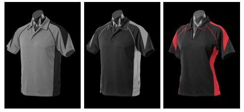 Polo Shirts - $36 / Kids $34
