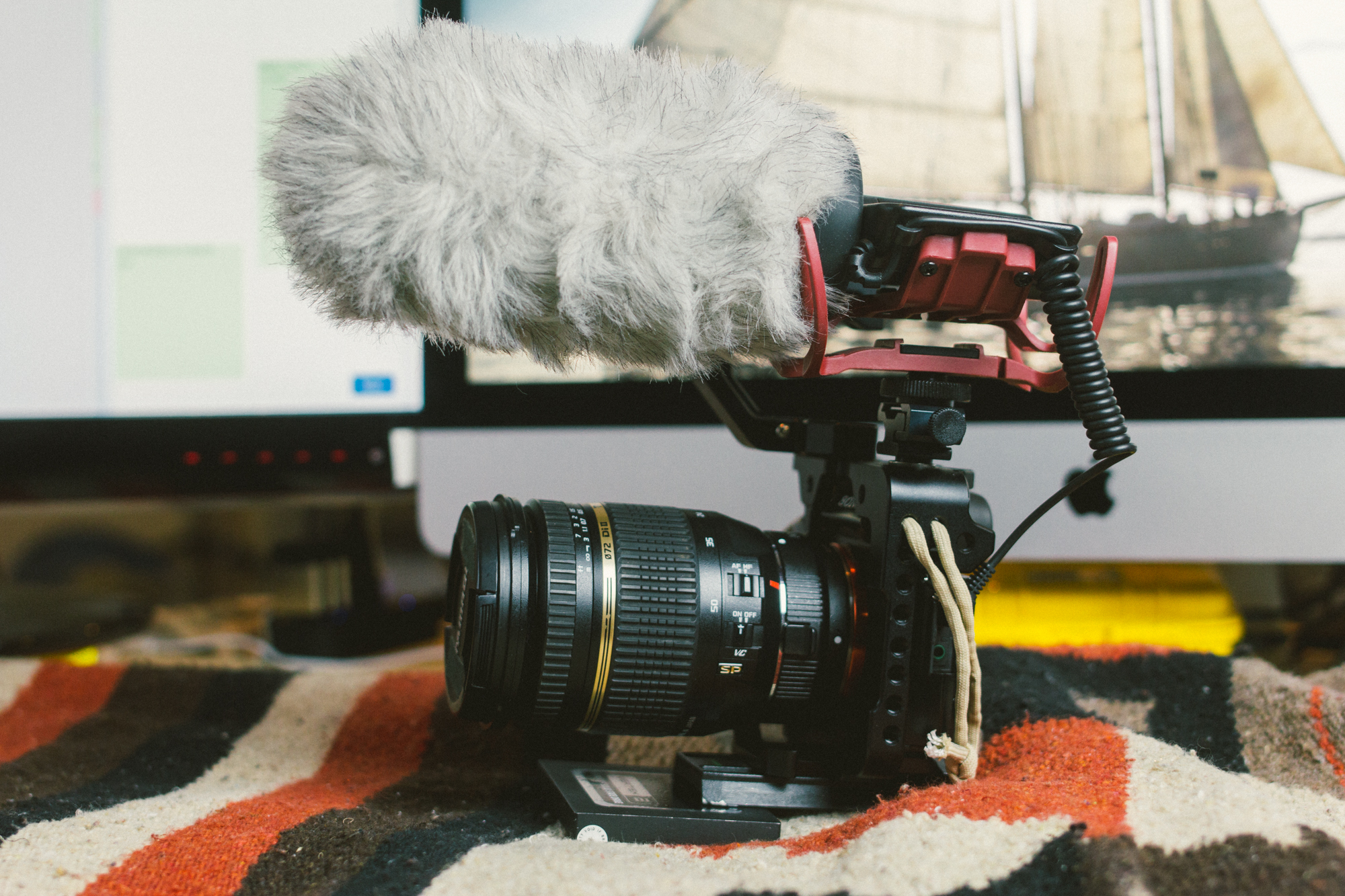 Sony A7s Rig up
