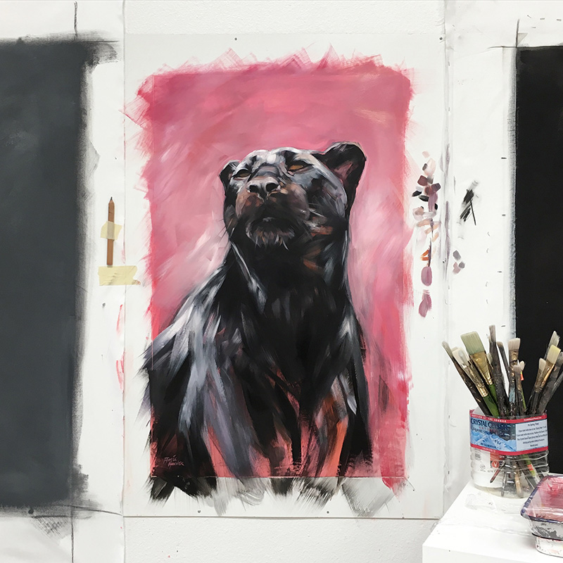 "In the studio: ""Black Panther"" 